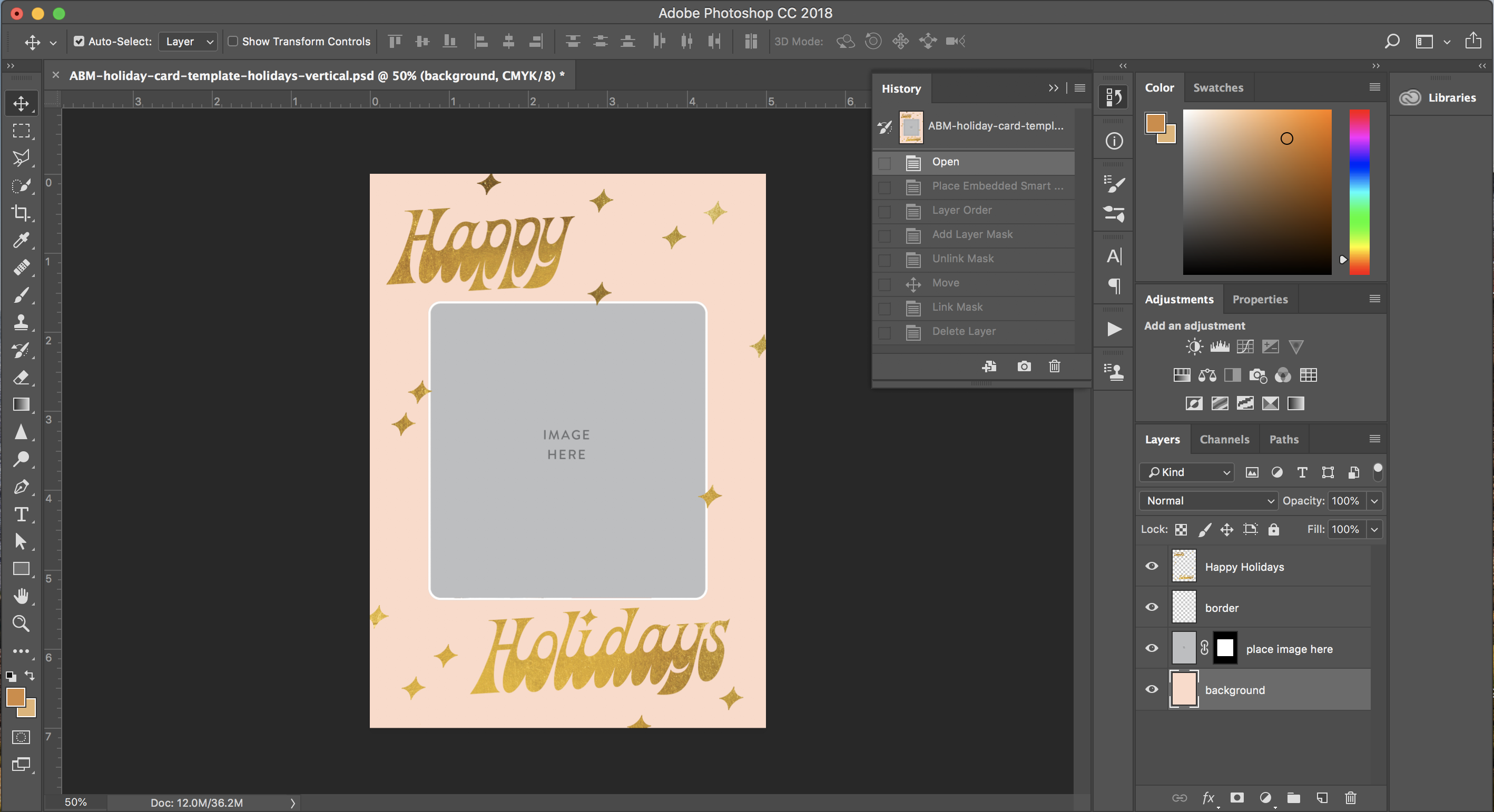 Print Your Own Holiday Cards Free Template Included A Beautiful