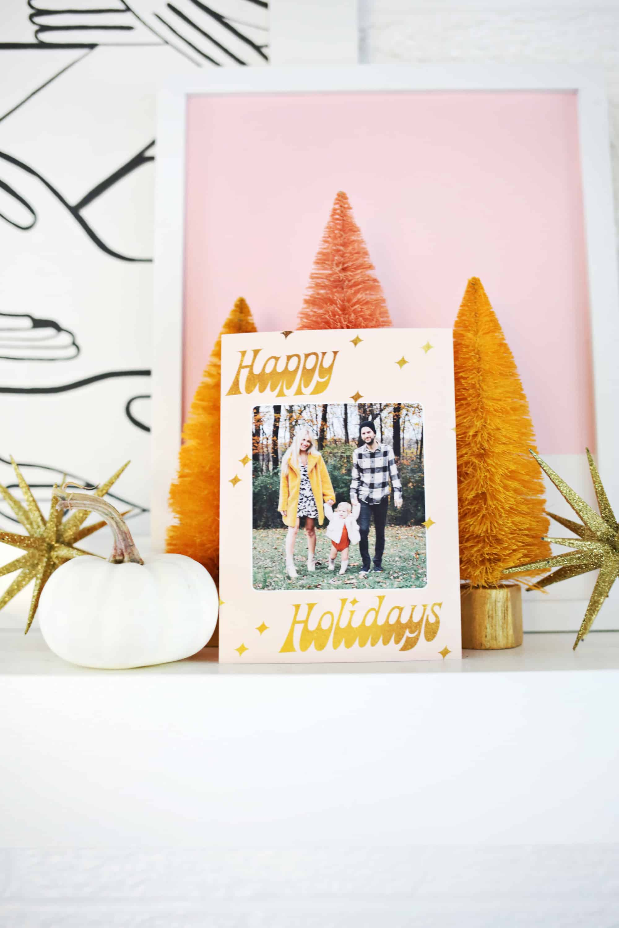 Printing Your Own Christmas Cards.Print Your Own Holiday Cards Free Template Included A