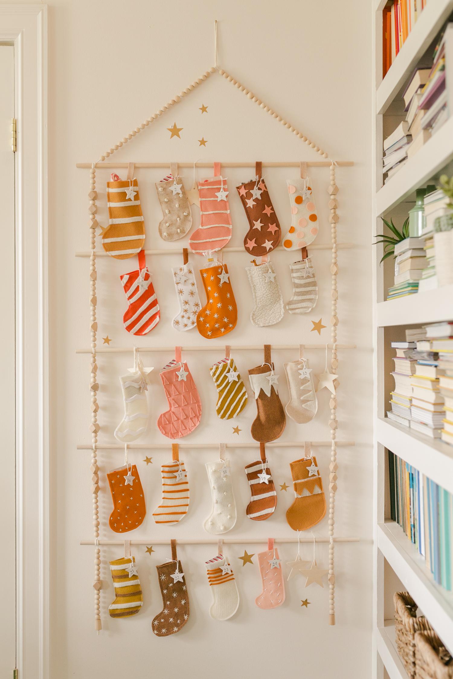Heirloom Advent Calendar Diy A Beautiful Mess