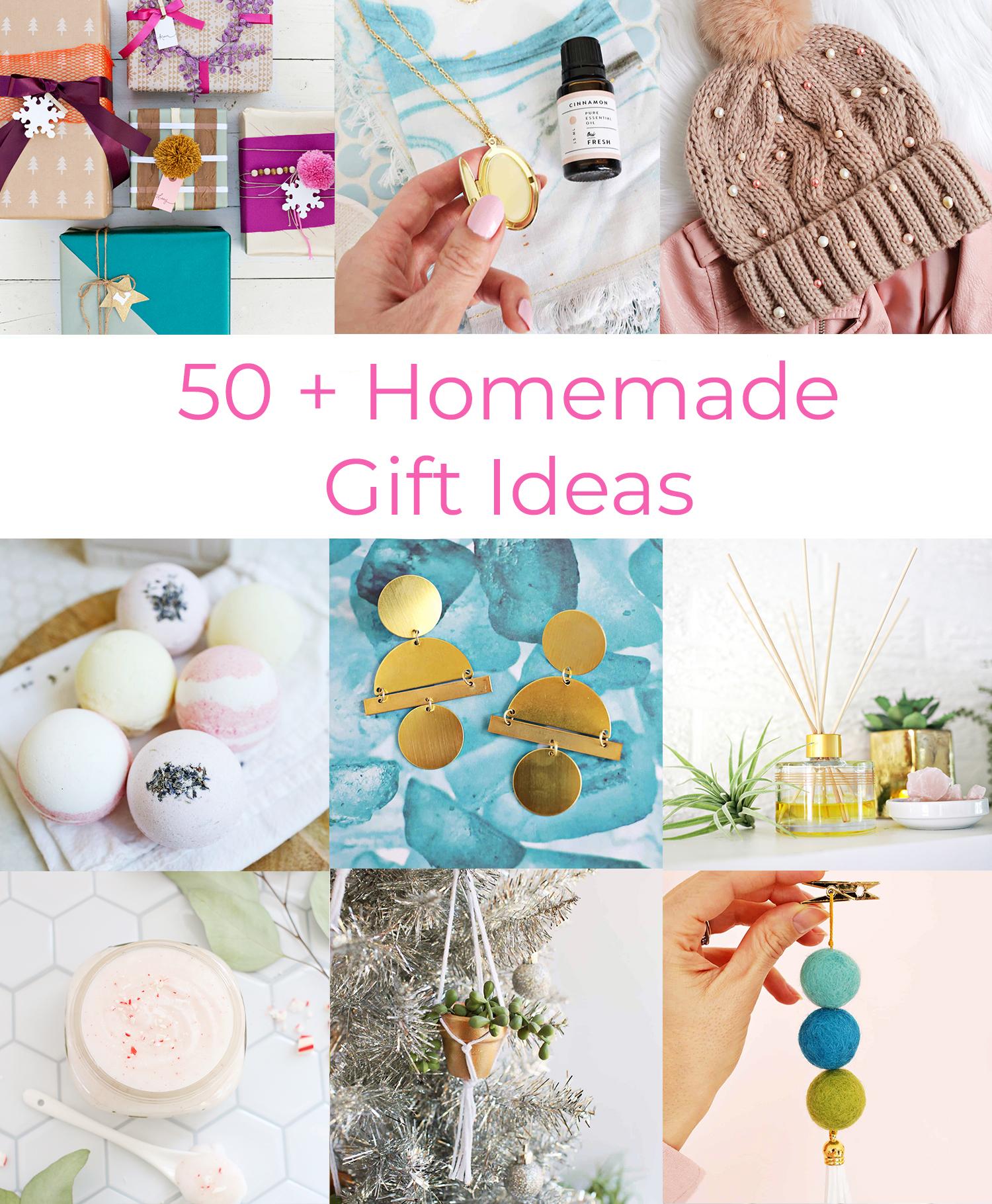 50 Homemade Gift Ideas A Beautiful Mess