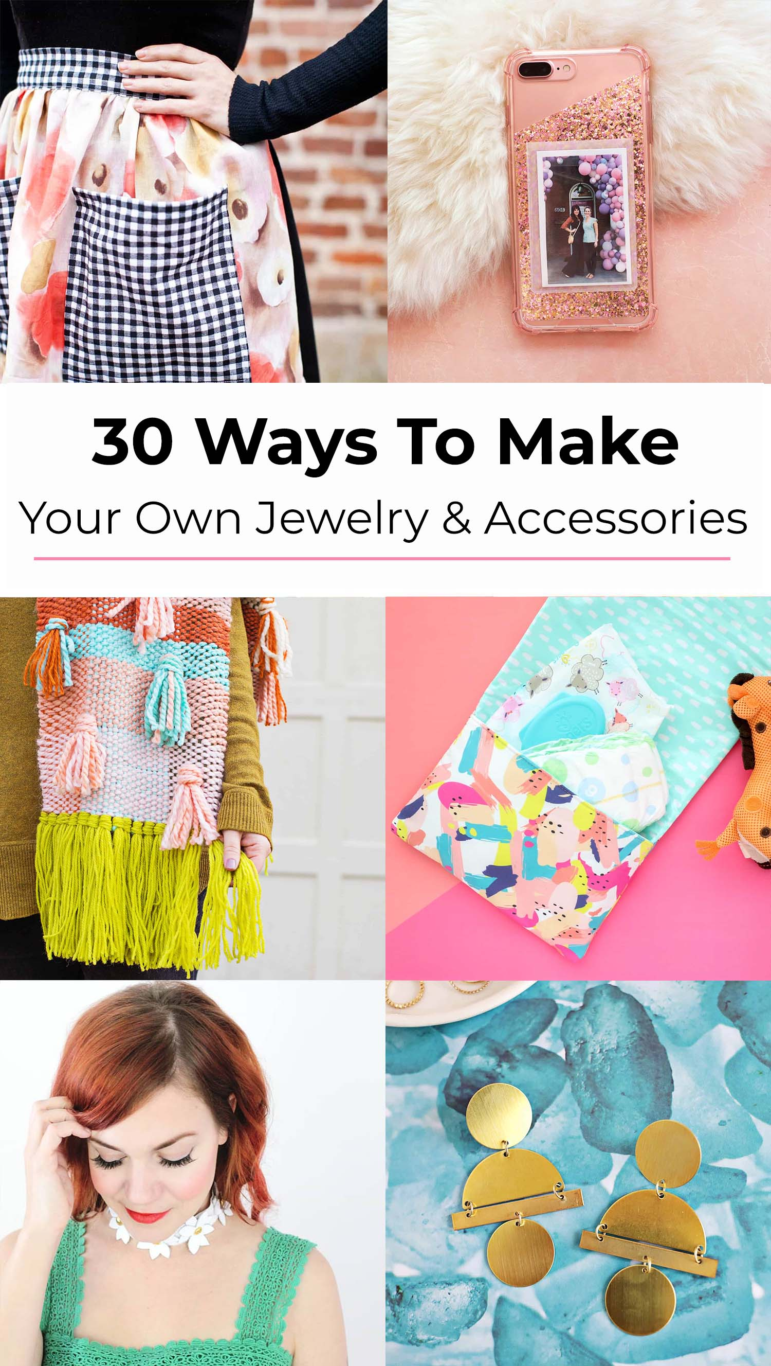 30 Ways To Make Your Own Jewelry And The Cutest Accessories