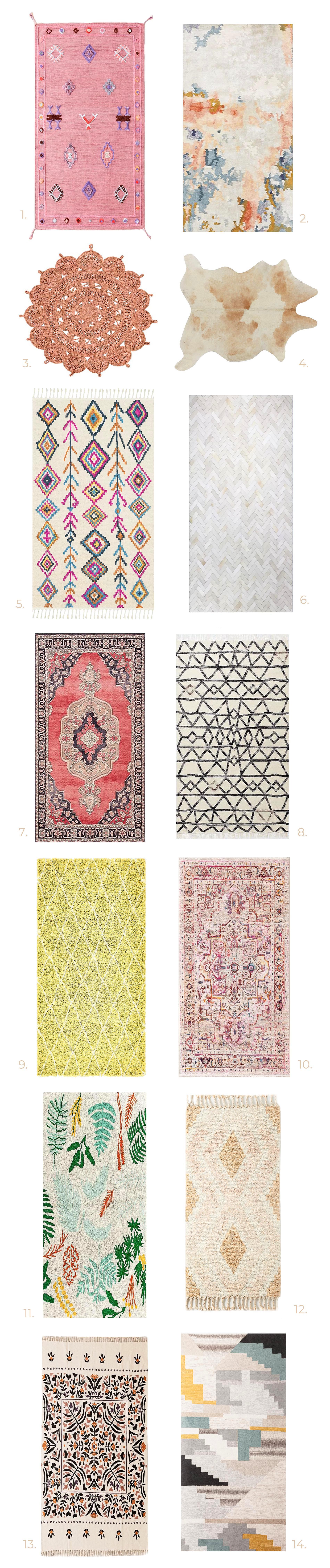 The Cutest Rugs Under $500