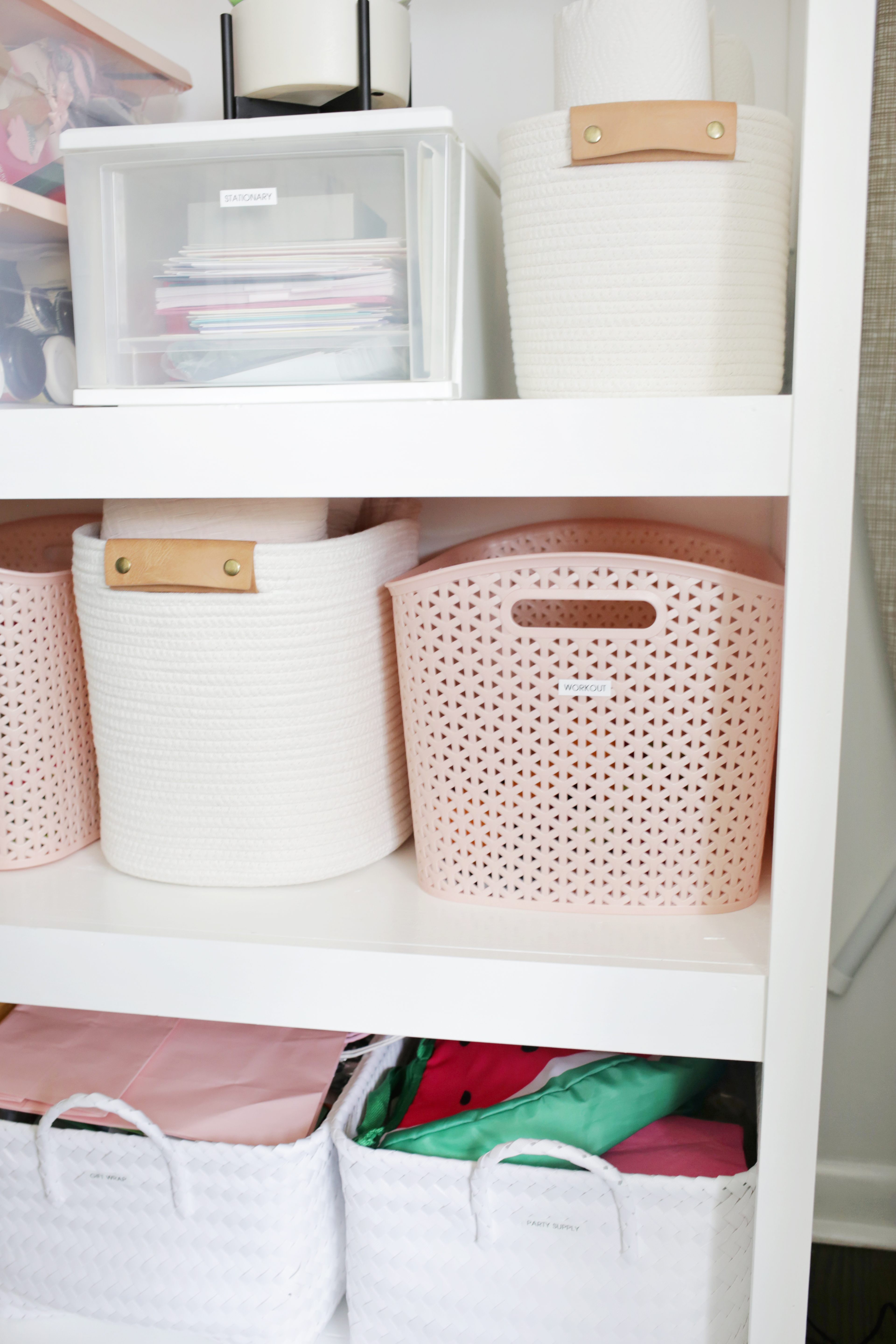 How I Organized My Hall Closet In One Afternoon A
