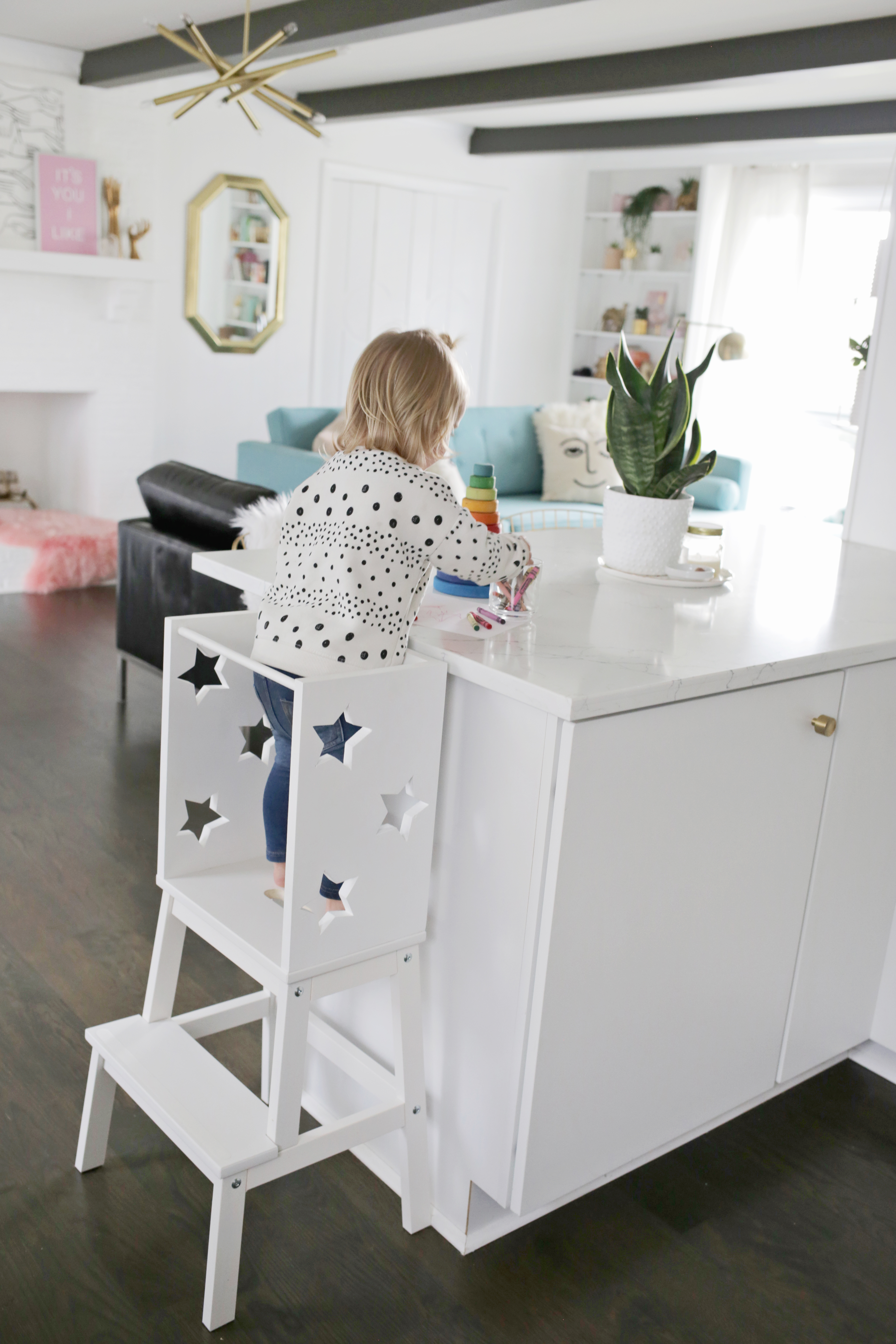 Ikea Hack Star Toddler Learning Tower Diy A Beautiful Mess