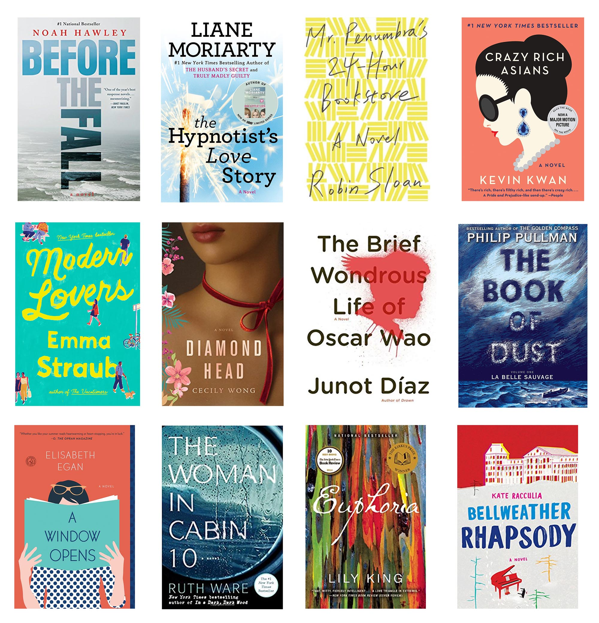 My Favorite Novels From the Last 2 Years