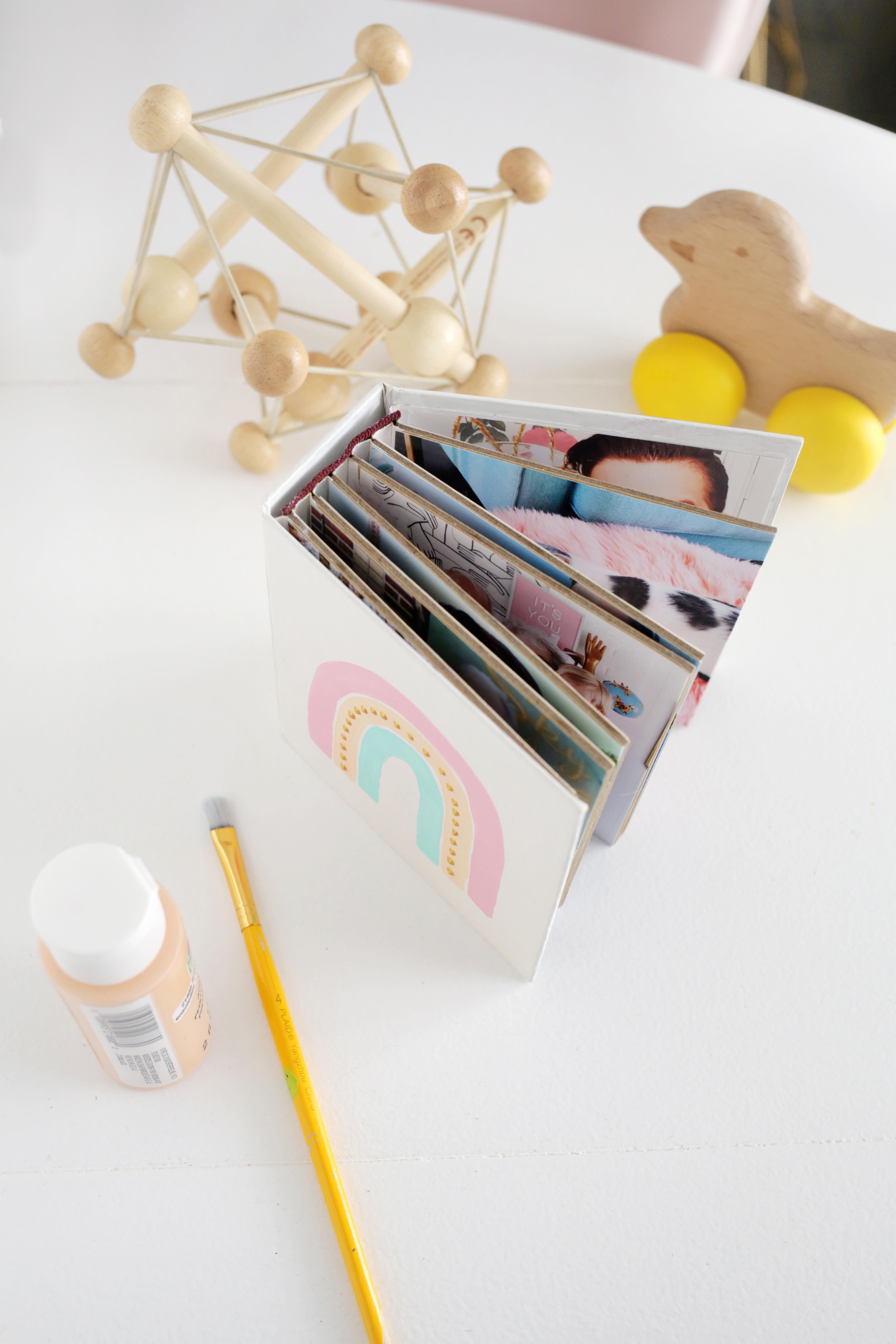DIY Family Board Book For Kids