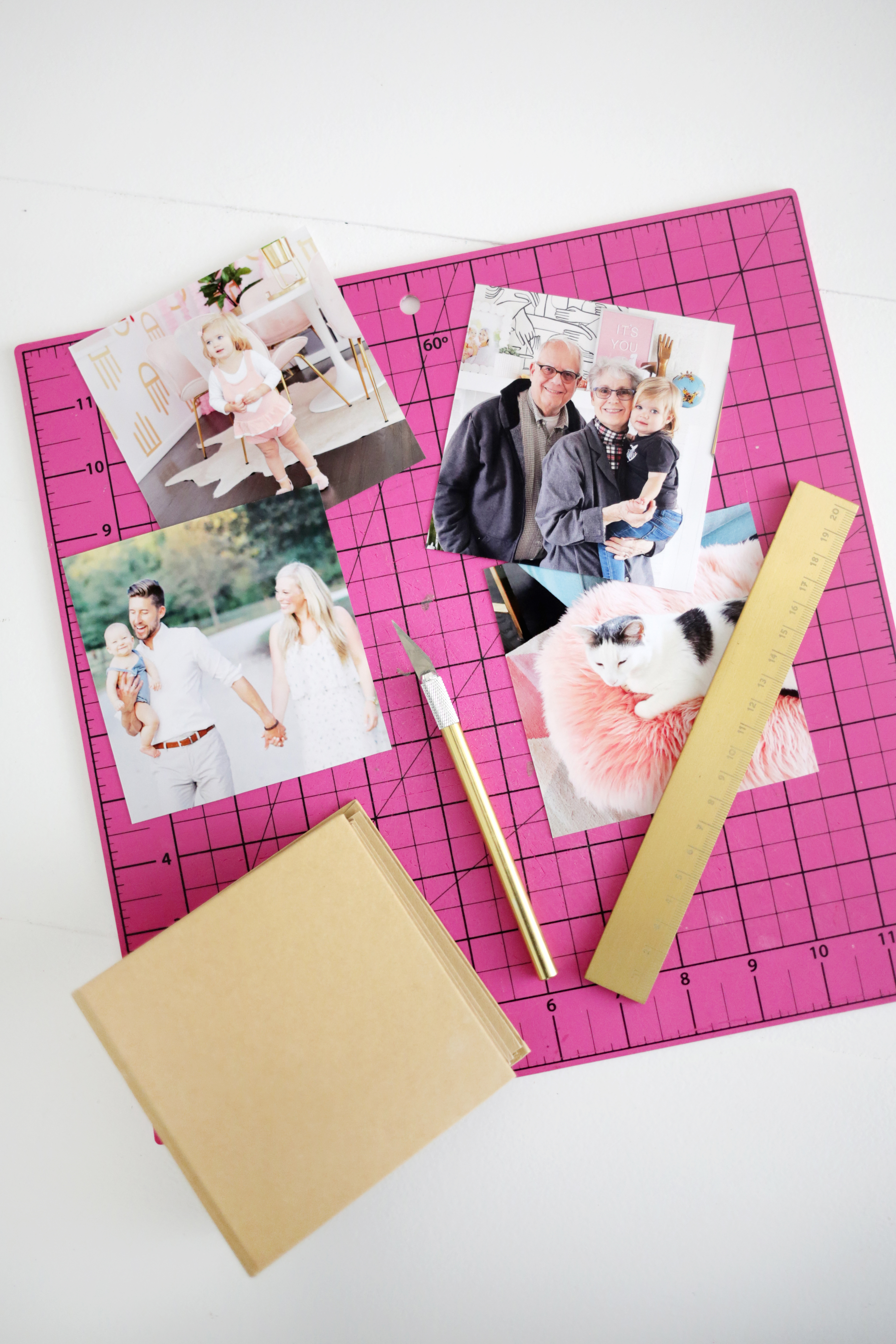 DIY Family Board Book For Kids - A Beautiful Mess
