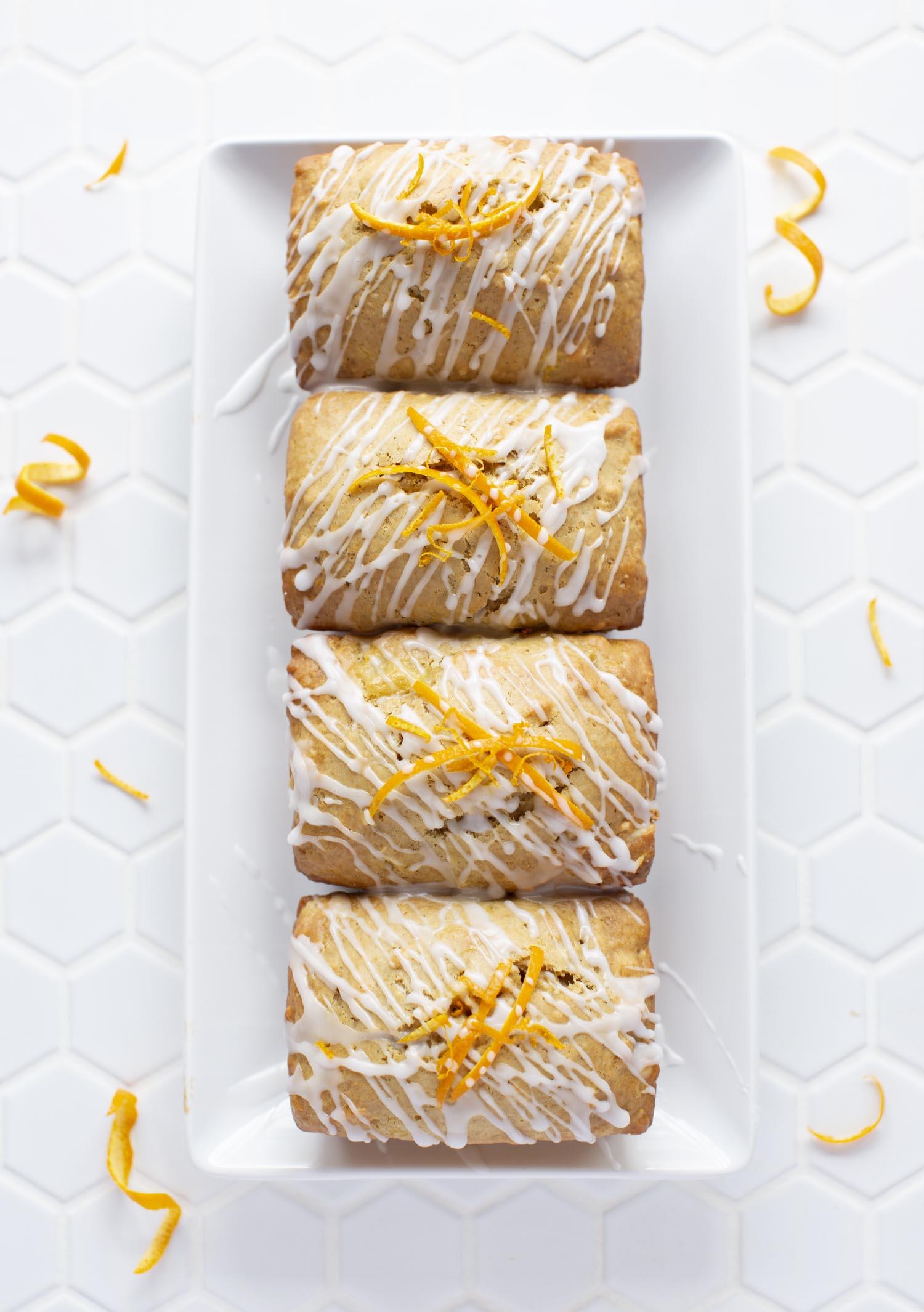 Mango & Orange Quick Bread