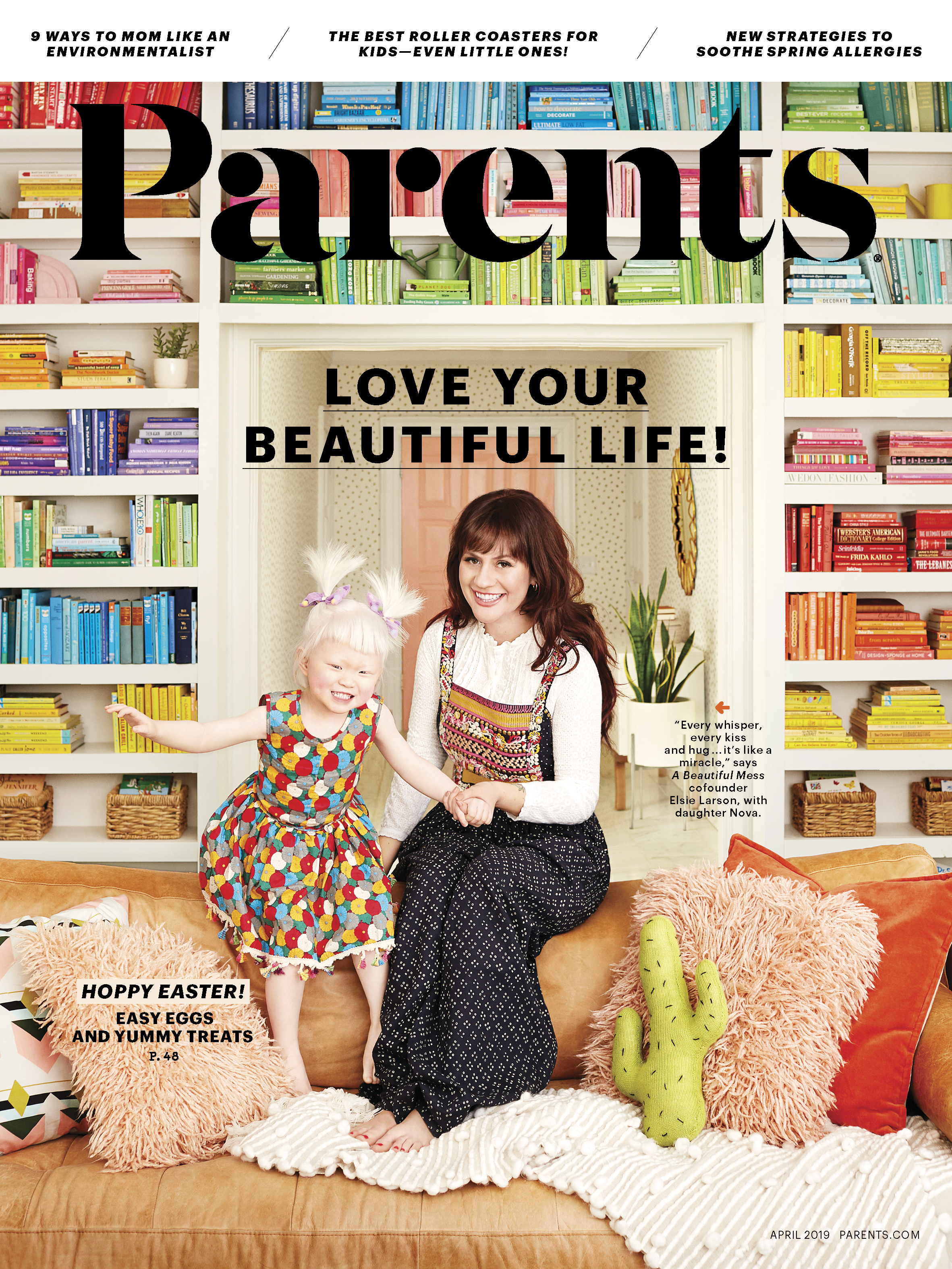 Elsie + Nova in Parents Magazine