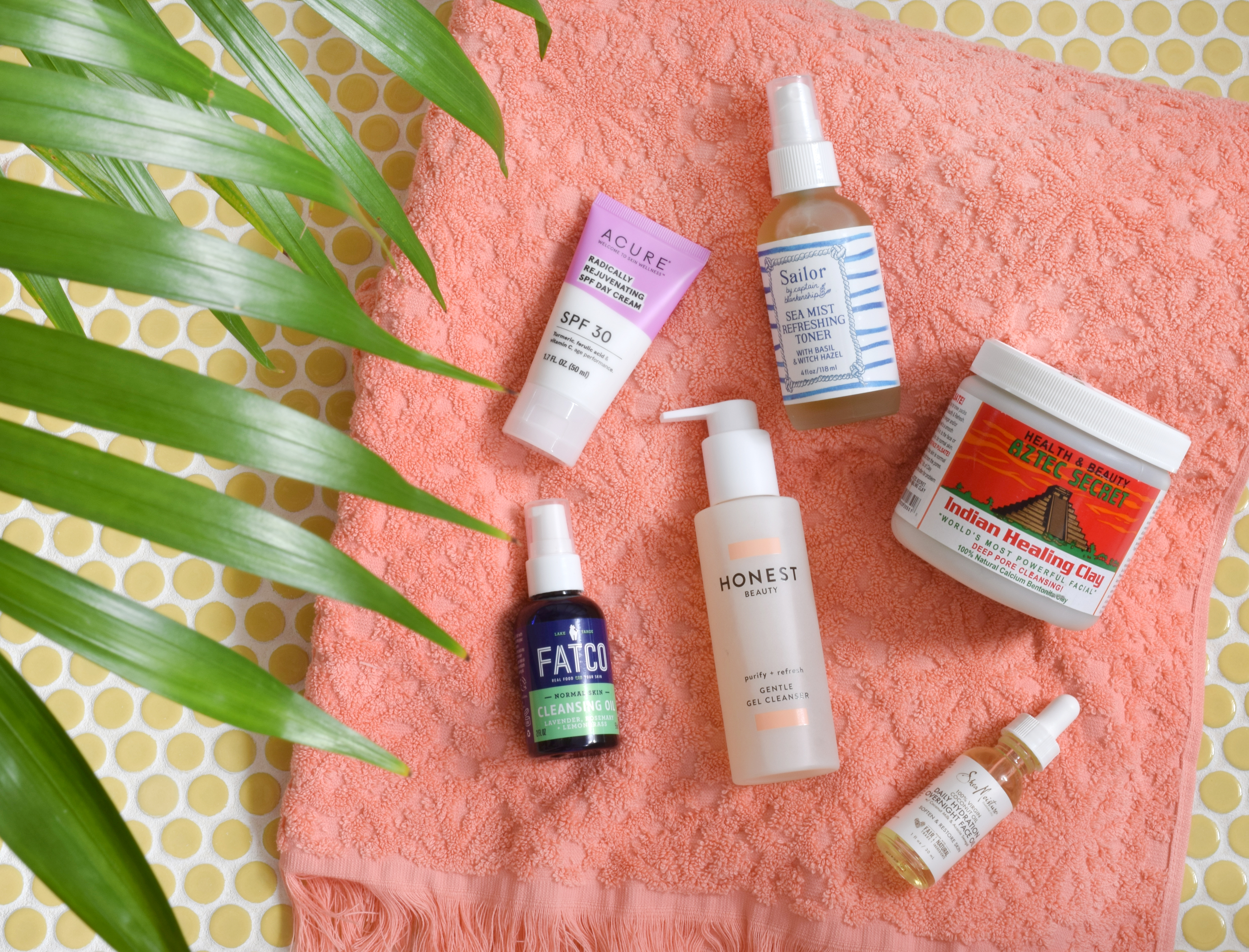 Six-Step Natural Skincare Routine from Target!