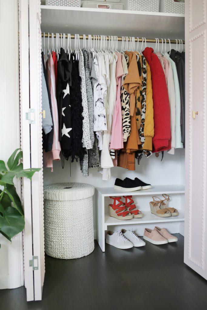 Easy Built-In Closet DIY - A Beautiful Mess