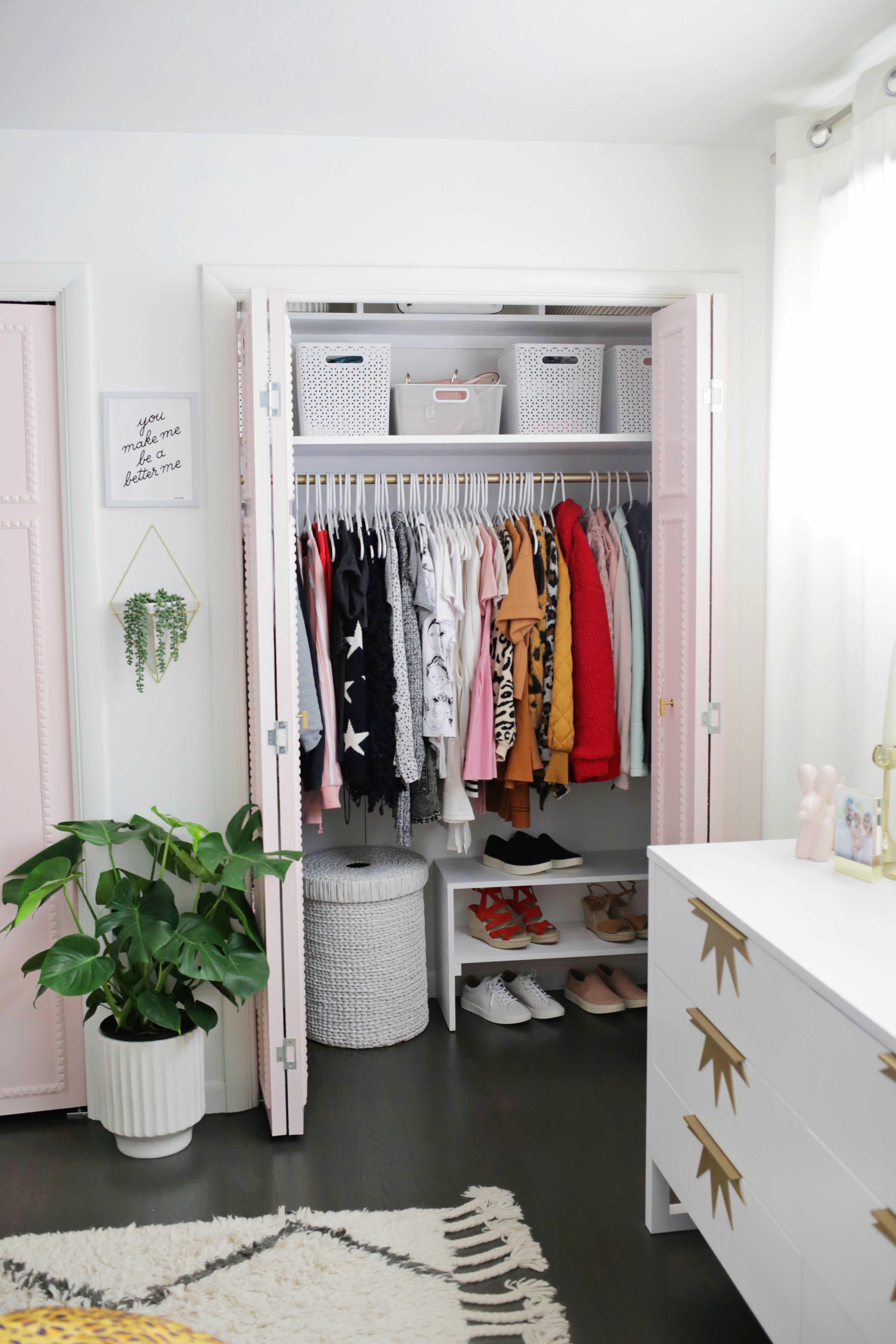 Easy Built In Closet Diy A Beautiful Mess