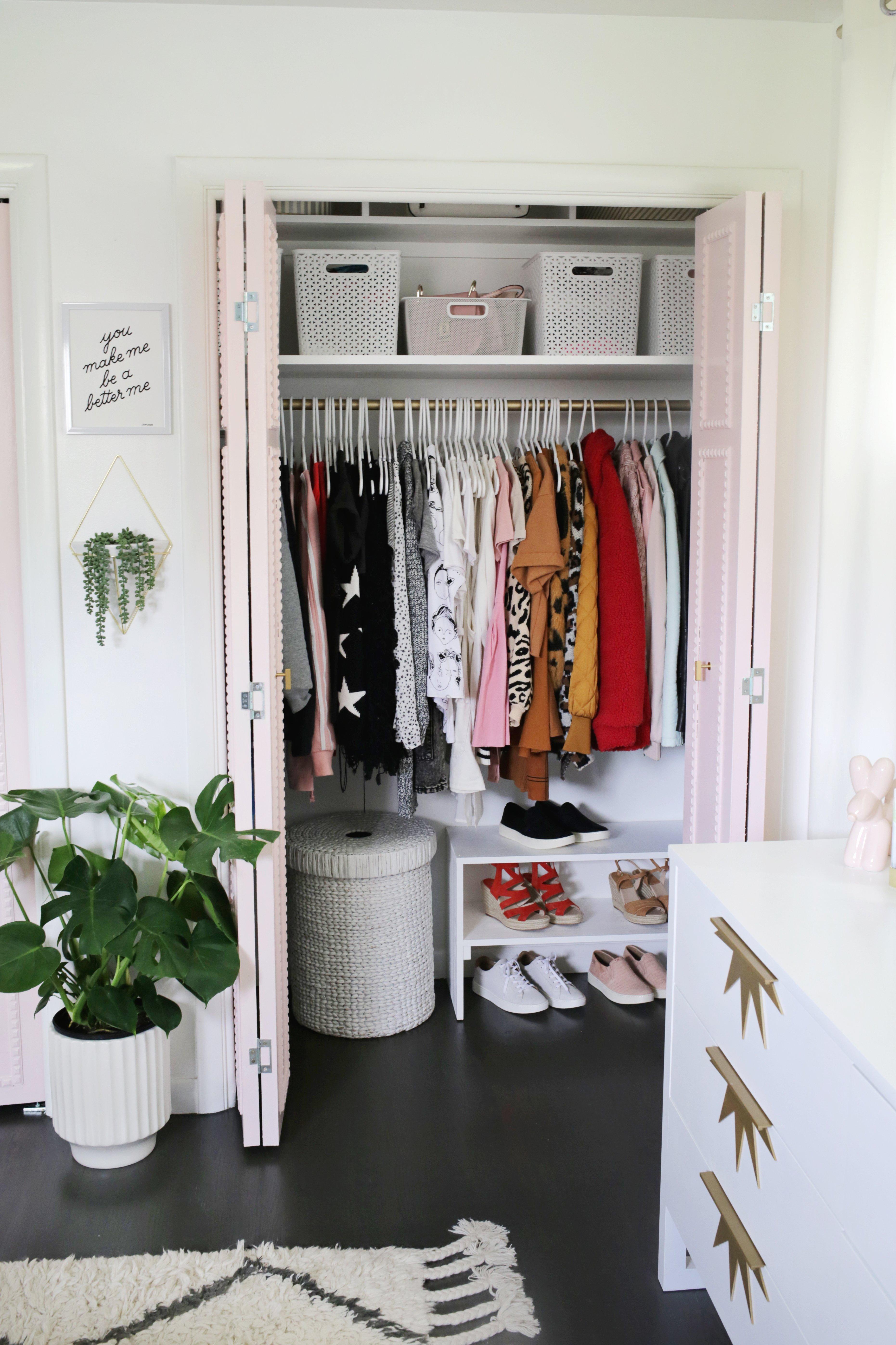 Easy Built In Closet Diy