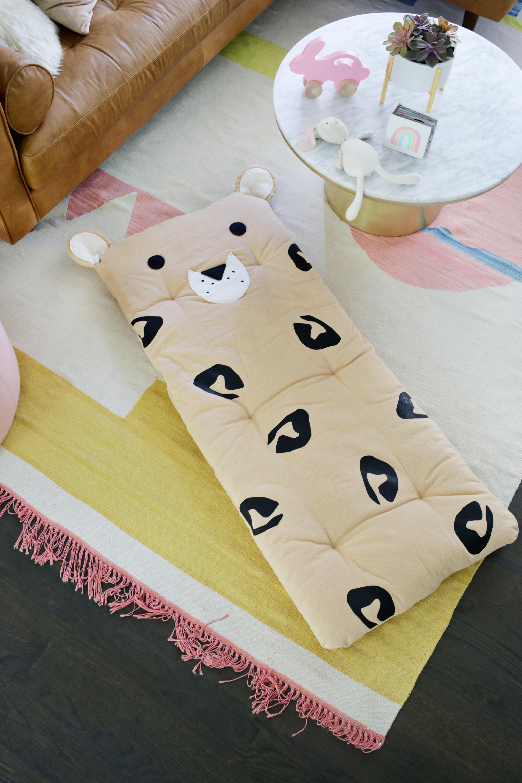Leopard Nap Mat DIY