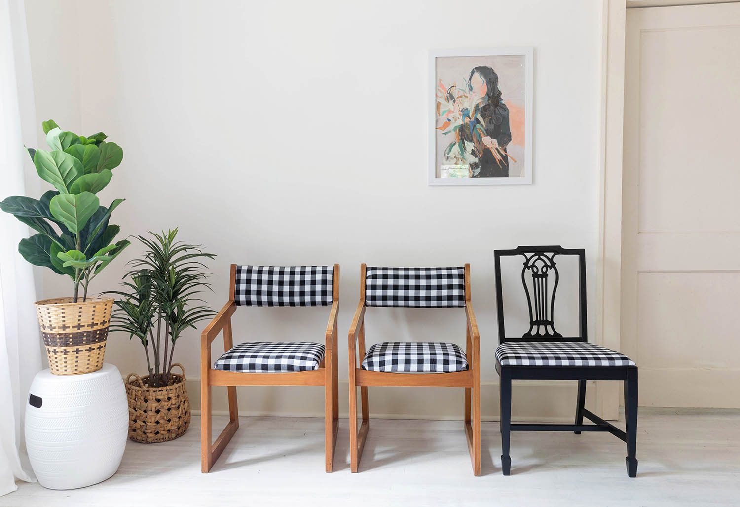 Tips to Reupholster Dining Chairs - A Beautiful Mess