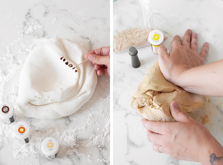 how to make fondant seashells
