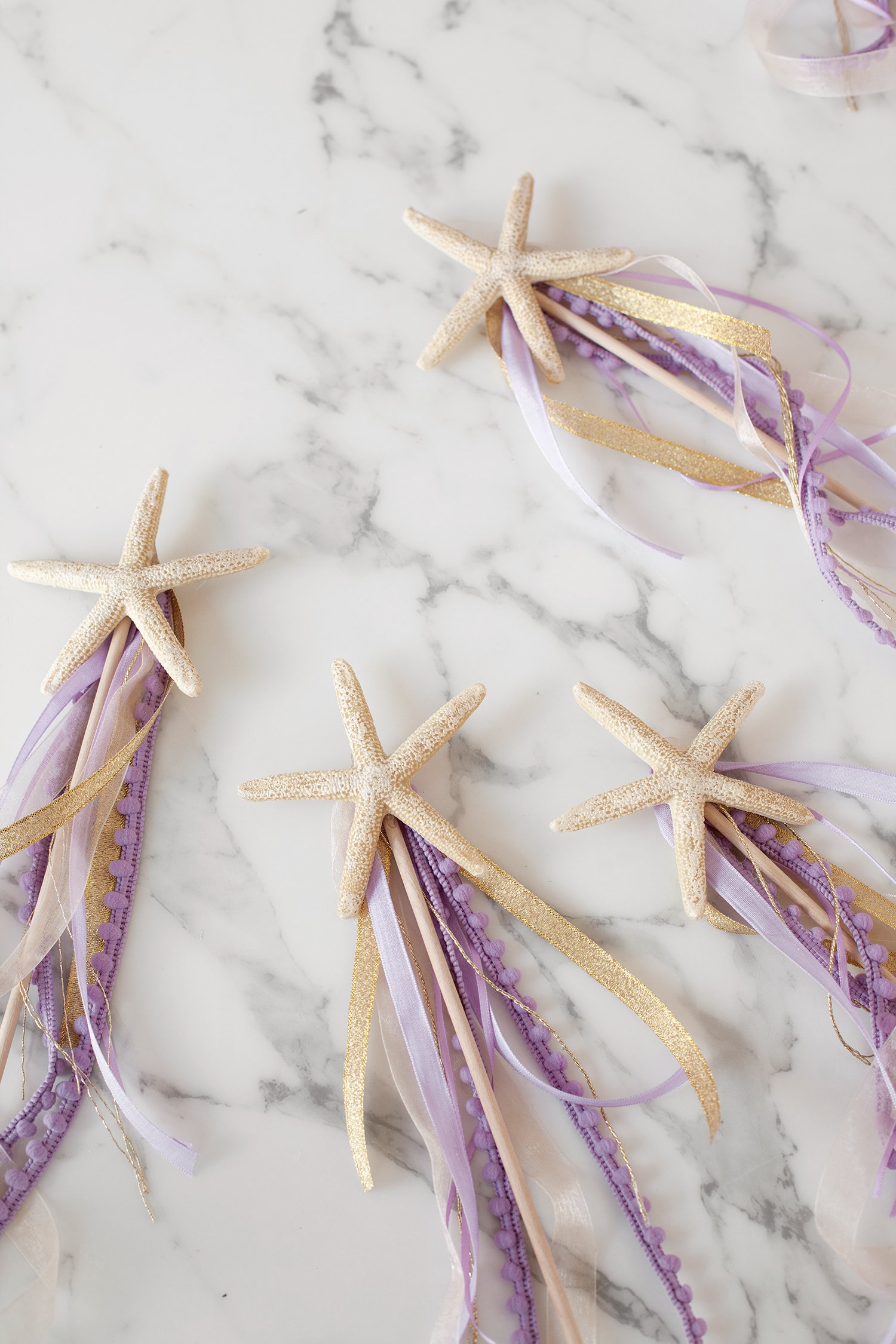 How to Make Starfish Wands