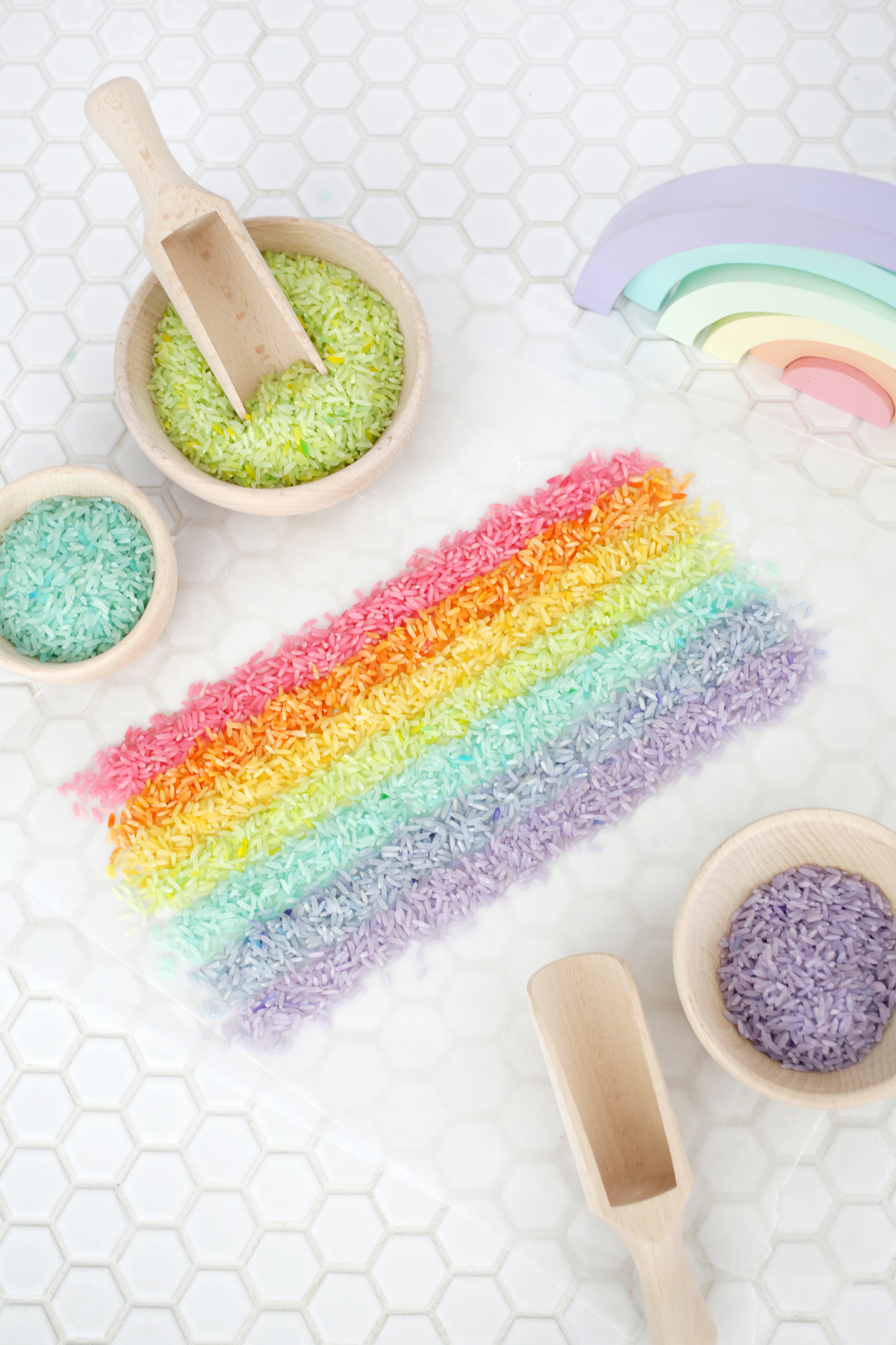 Make Rainbow Rice in 5 Minutes!