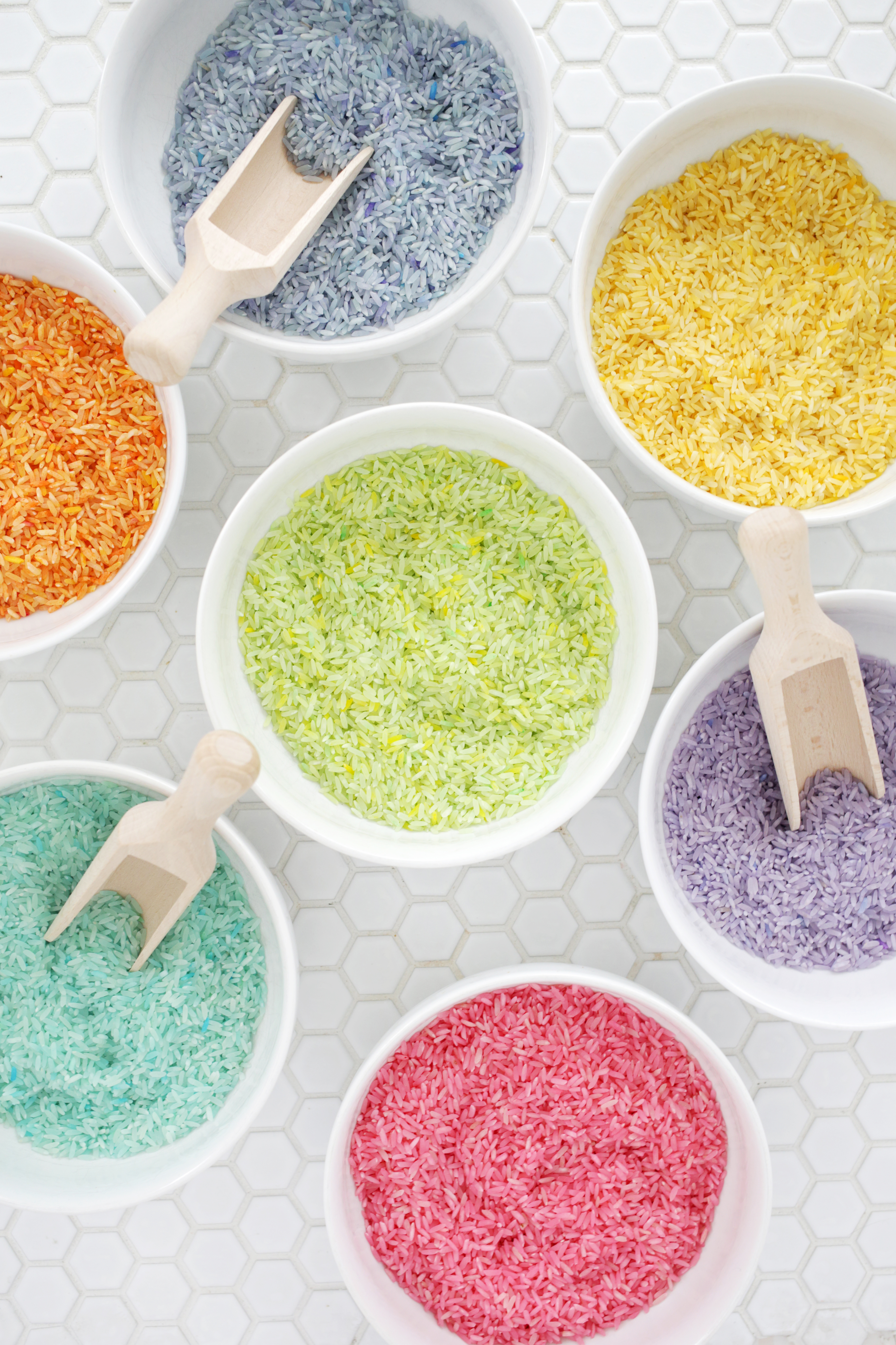 Make Rainbow Rice in 5 Minutes! - A Beautiful Mess