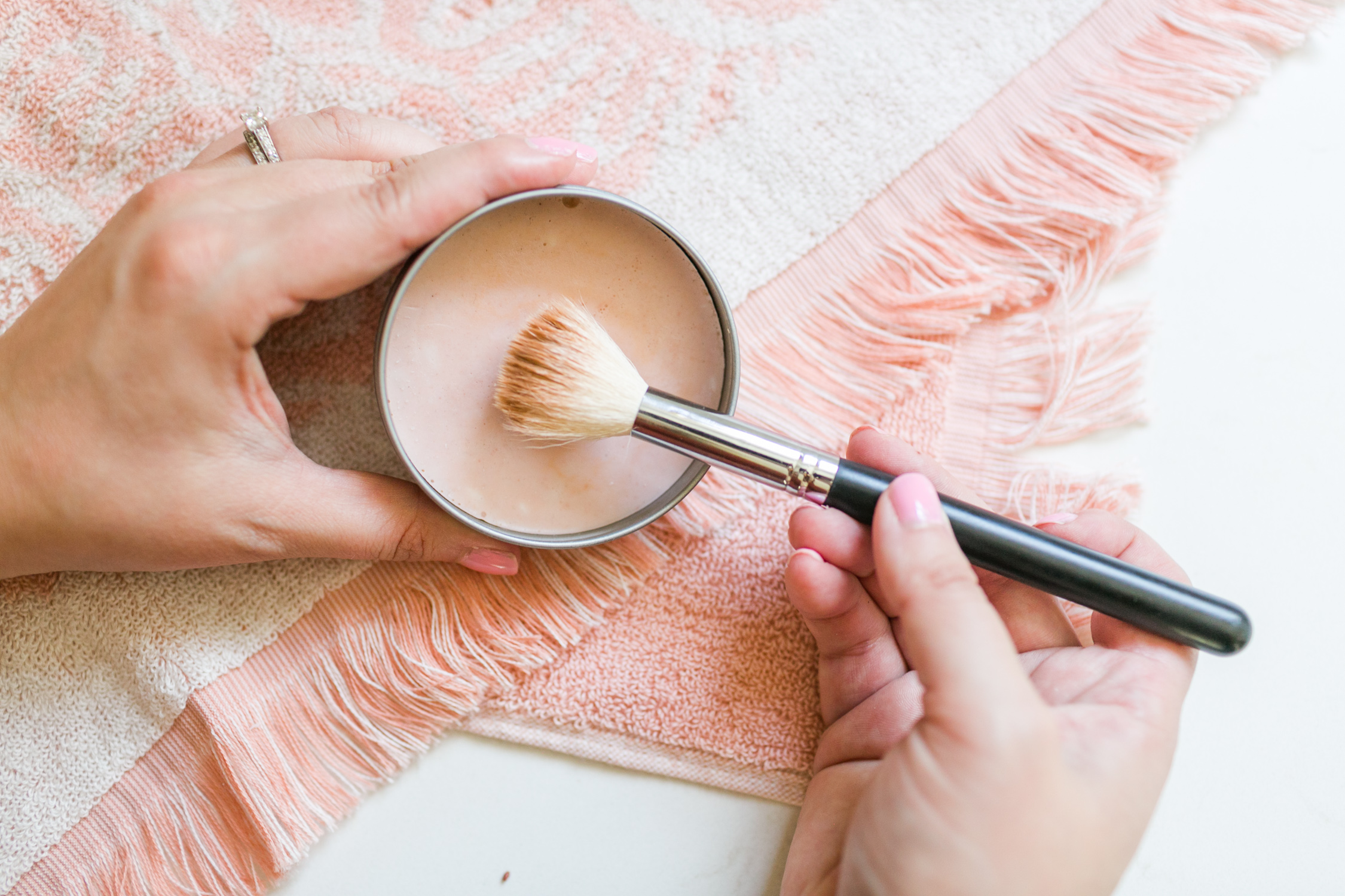 Solid Cleaner for Makeup Brushes and Blenders