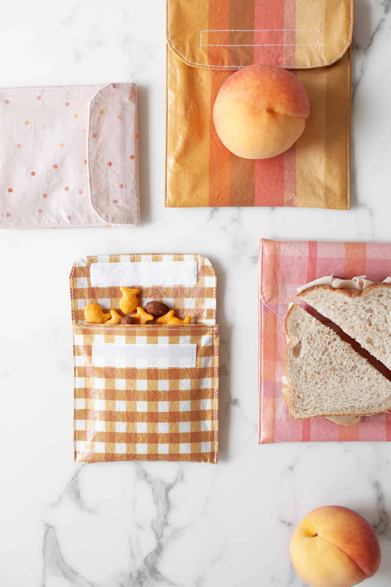 How To Make Reusable Sandwich Bags And Snack A