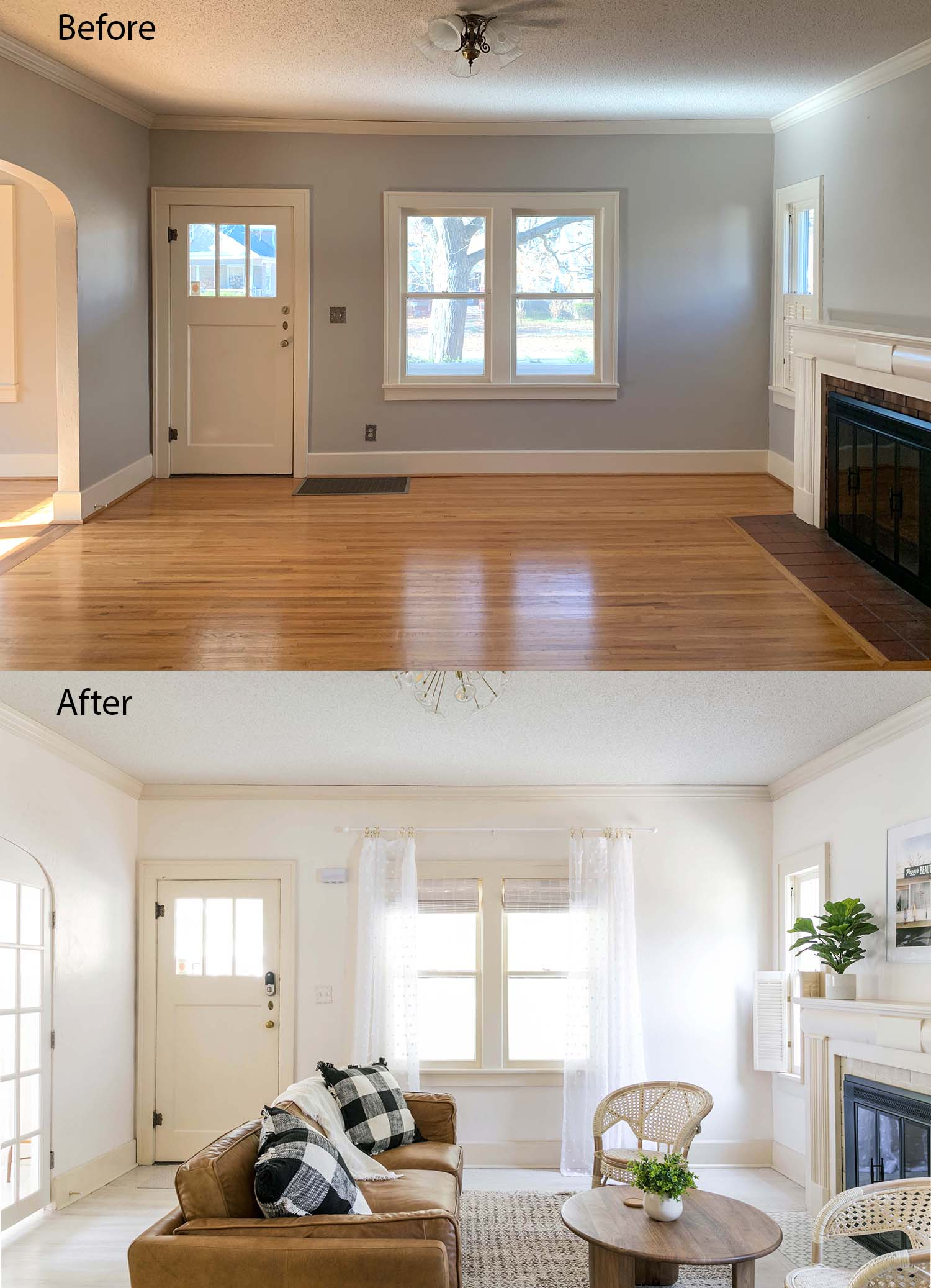 Holiday House Formal Living Room Before & After - A ...