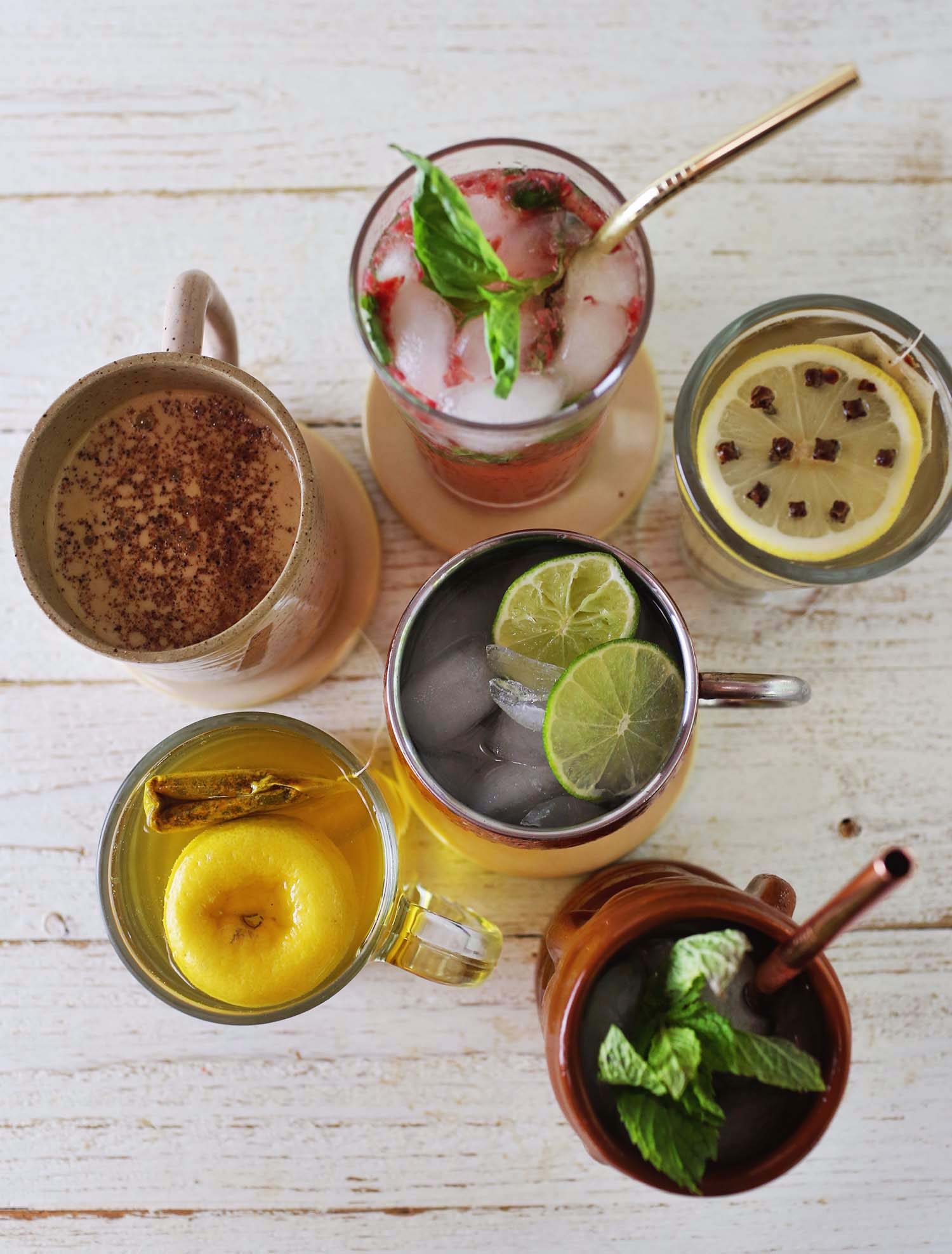 Hot & Cold Mocktail Recipes - A Beautiful Mess