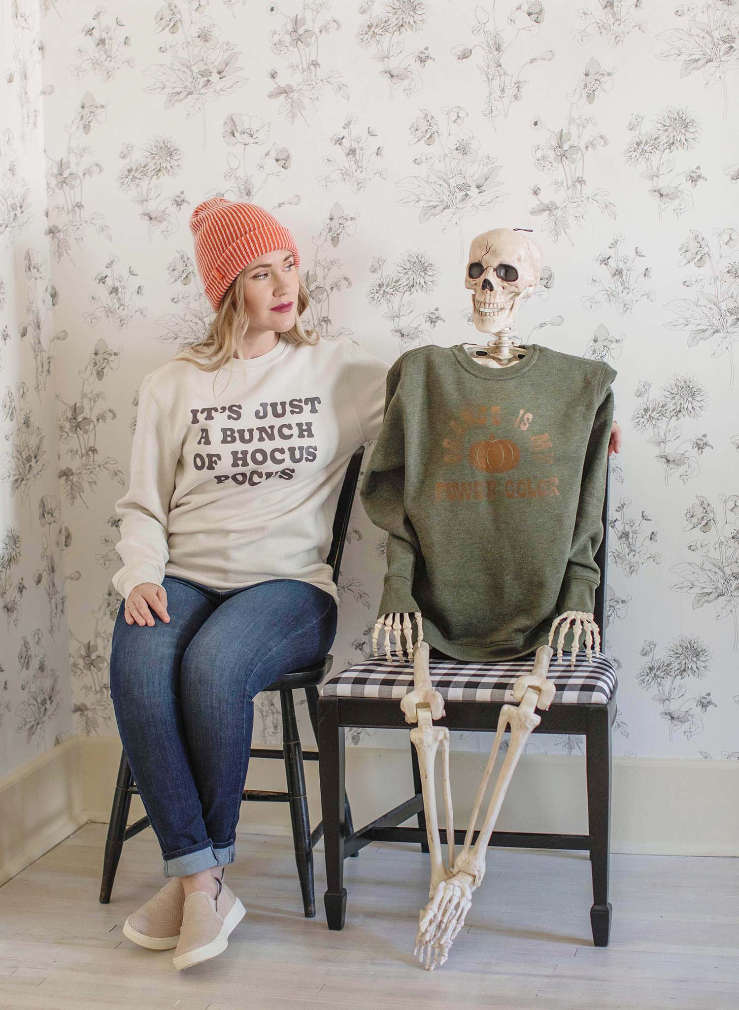 Make Your Own Halloween Sweater