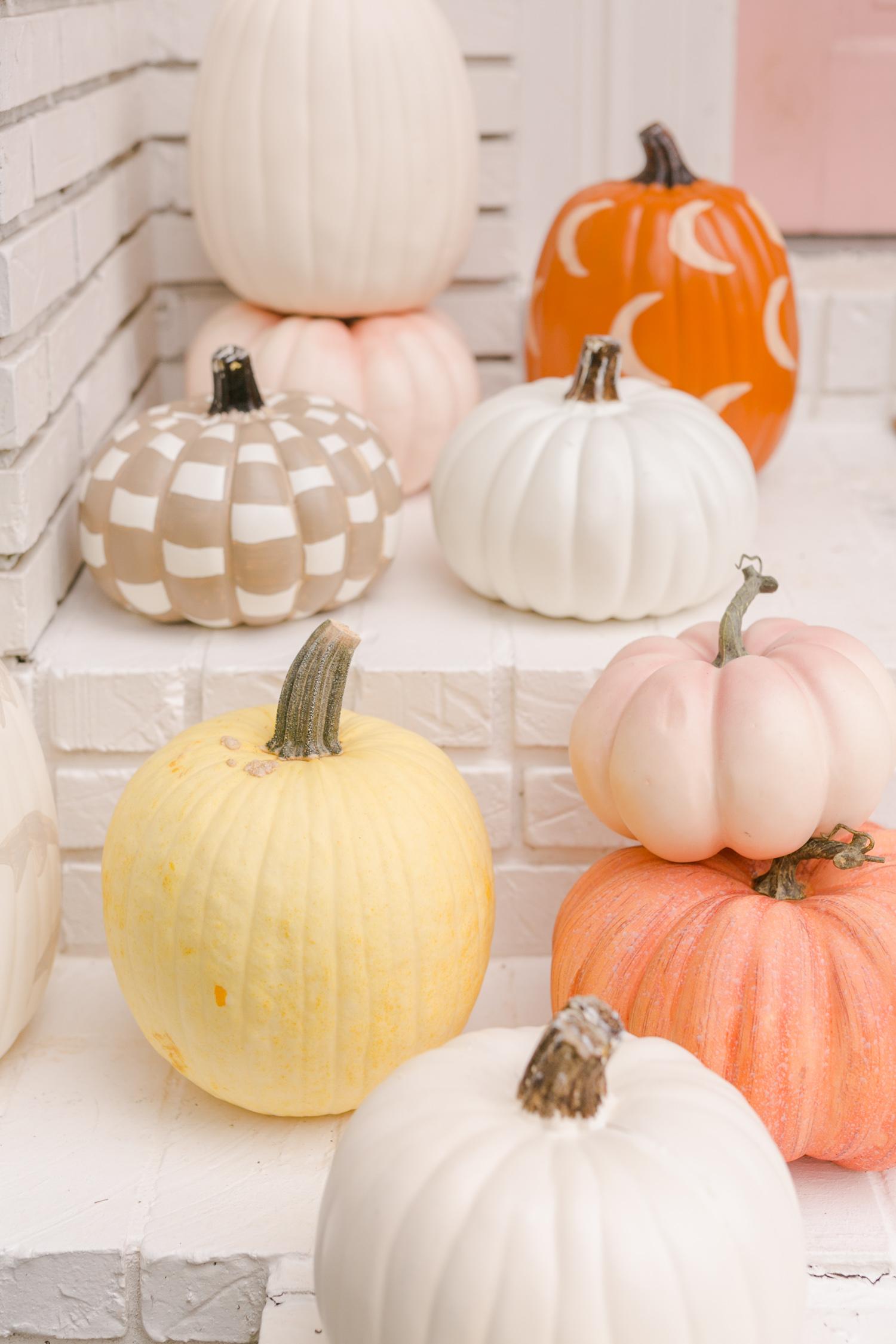Painted Pumpkin Diy A Beautiful Mess
