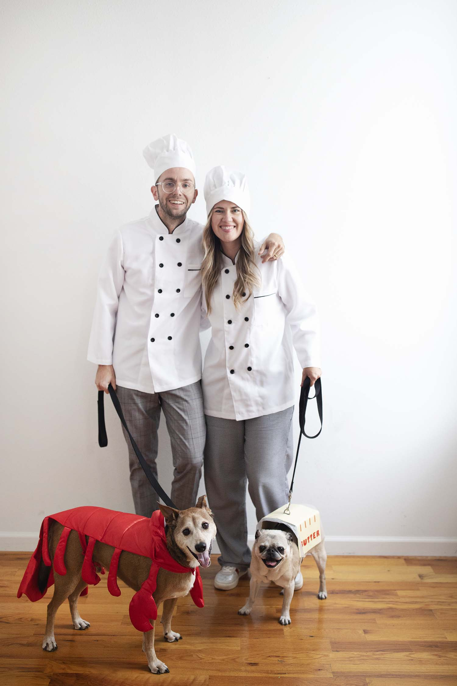 Dog Family Costumes – Chefs & Butter + Lobster