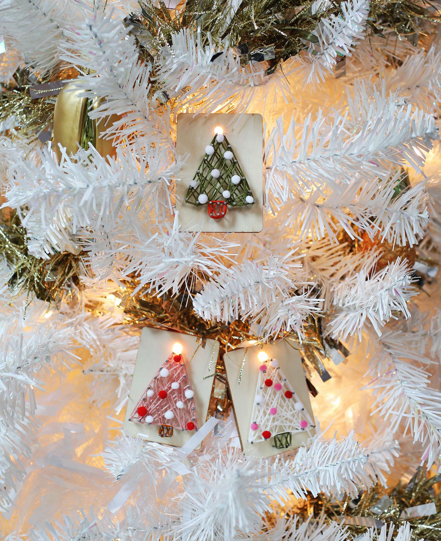 DIY String Art Ornaments – A Beautiful Mess