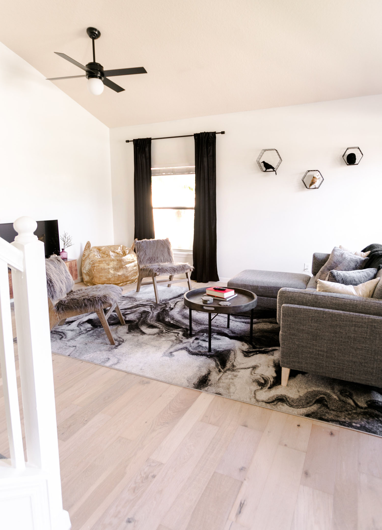 Harry Potter Inspired Living Room Tour A Beautiful Mess