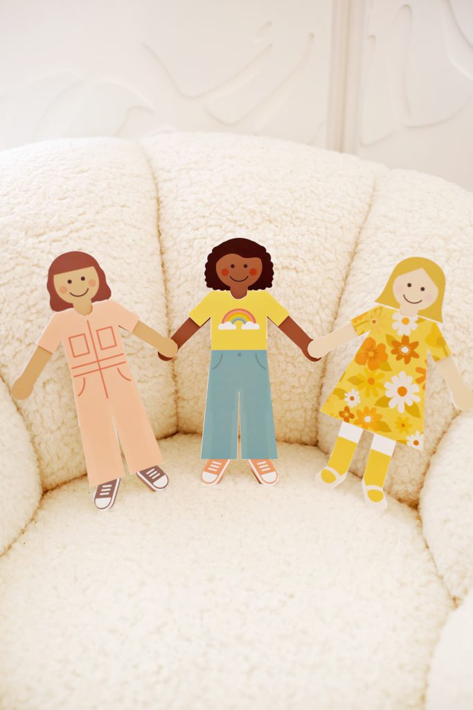 DIY Paper Dolls (with Free Printables!)