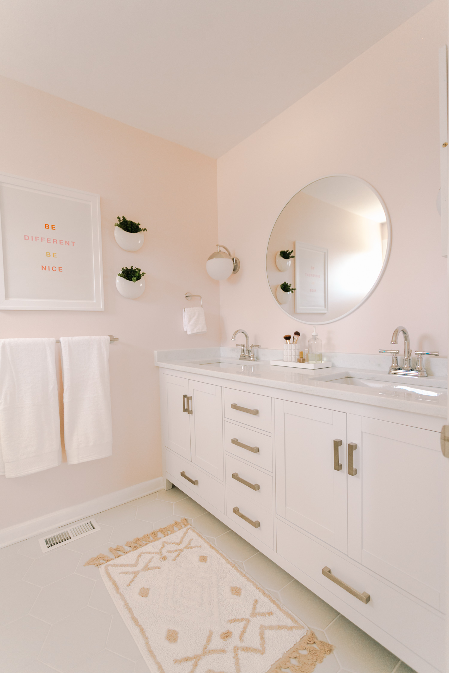 Laura S Master Bathroom Makeover Before After A