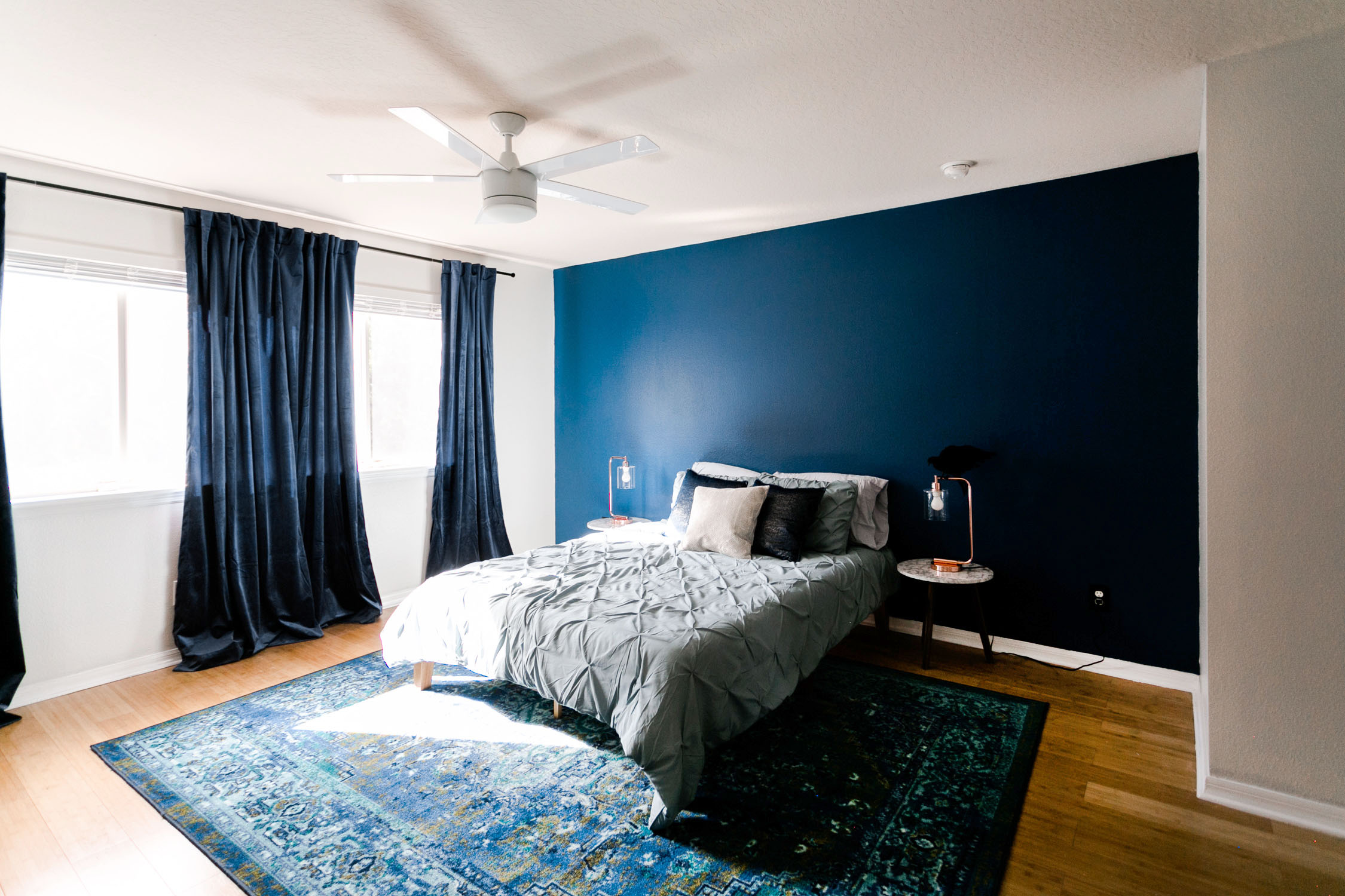 Ravenclaw-Inspired Bedroom