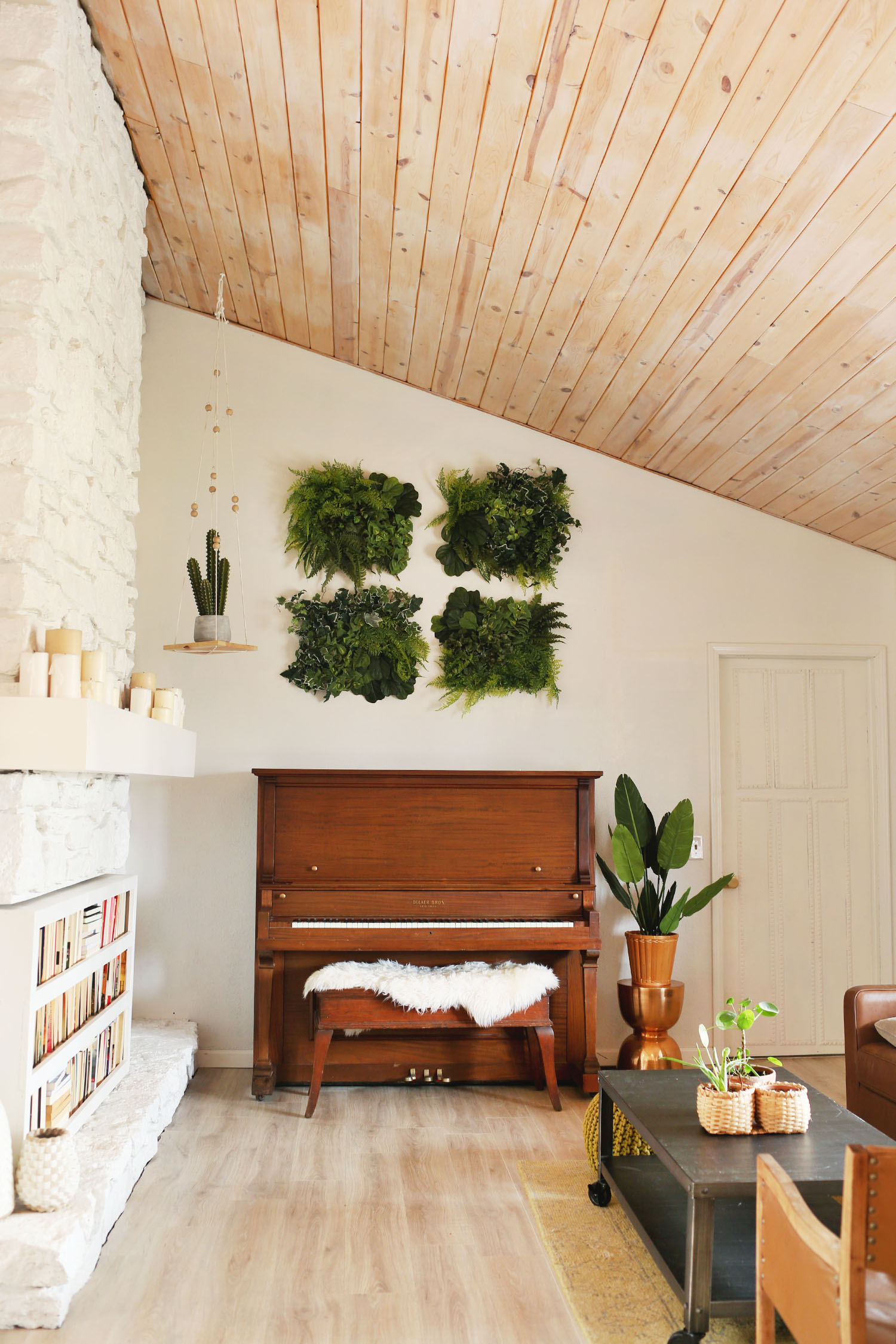 Easy DIY Living Wall Art
