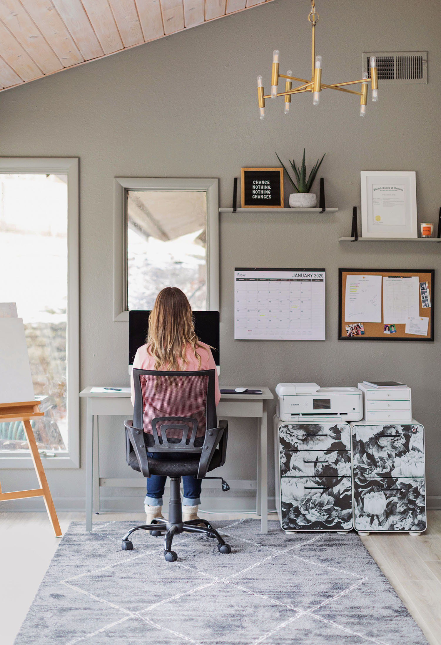 Emma's Home Office Refresh