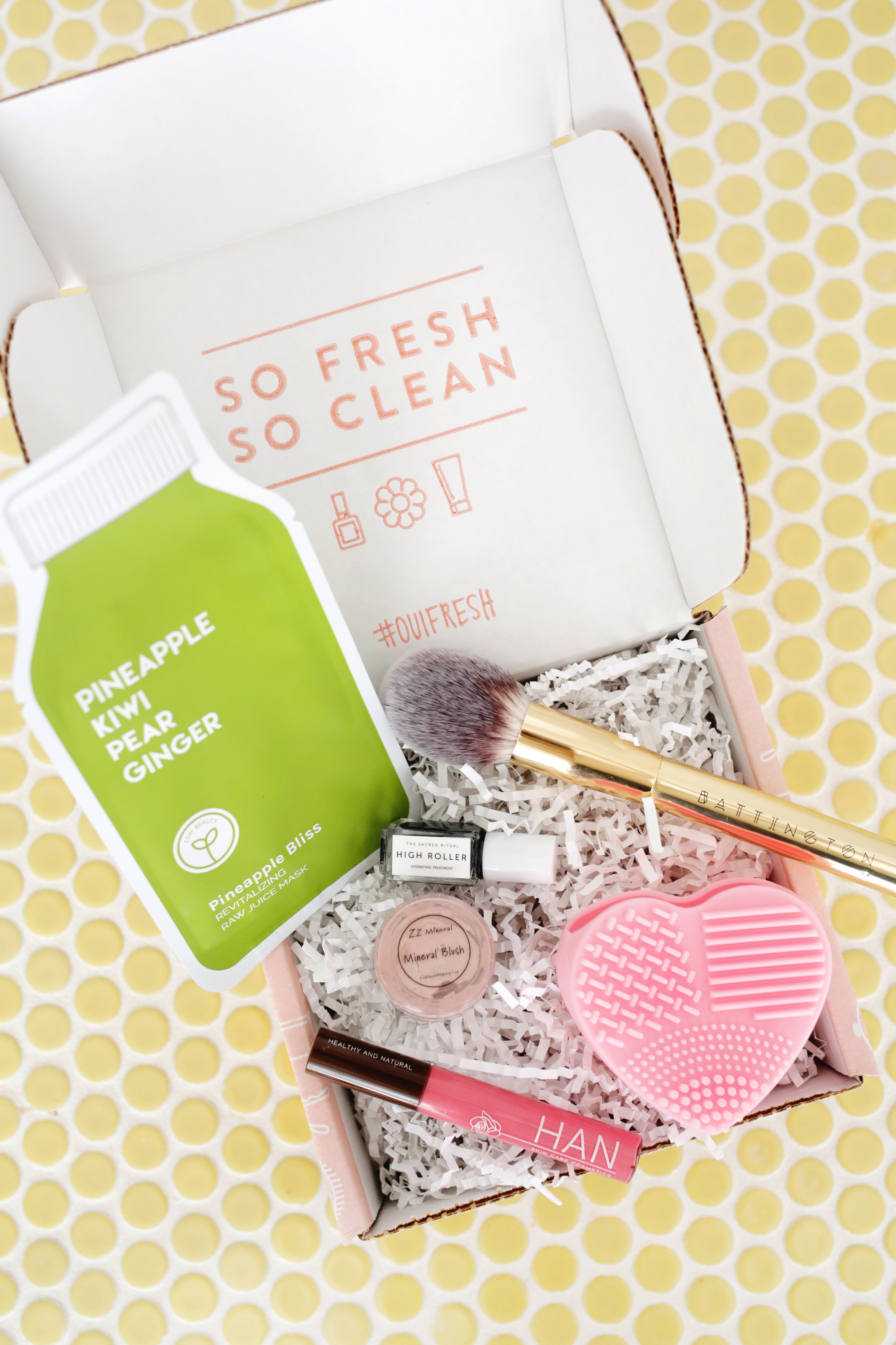 Oui Fresh Beauty Box March 2020 Unboxing