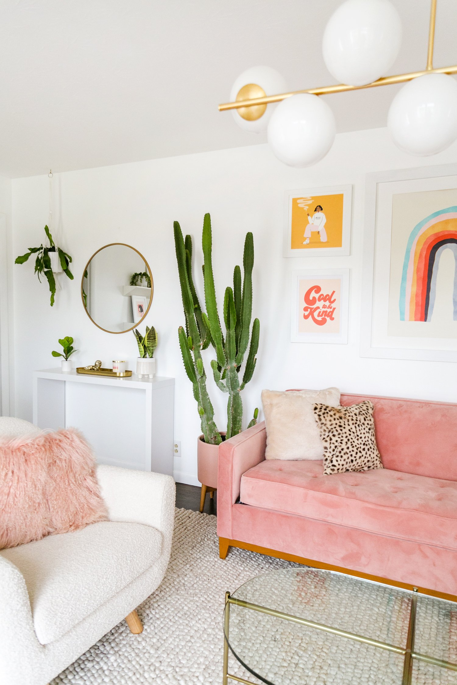 Laura's Front Room Refresh (Before + After!)