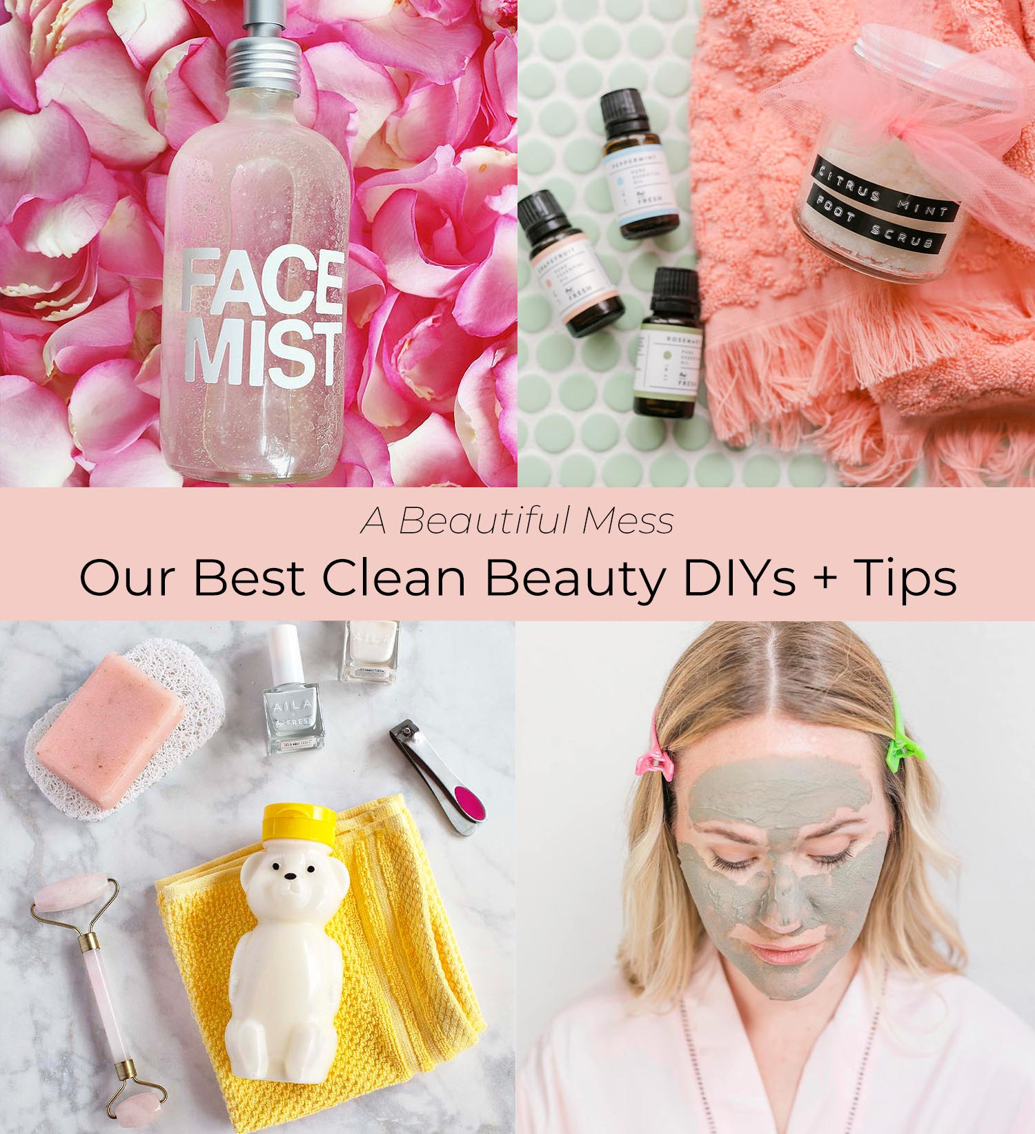 Our Best Clean Beauty DIYs (and Tips!)