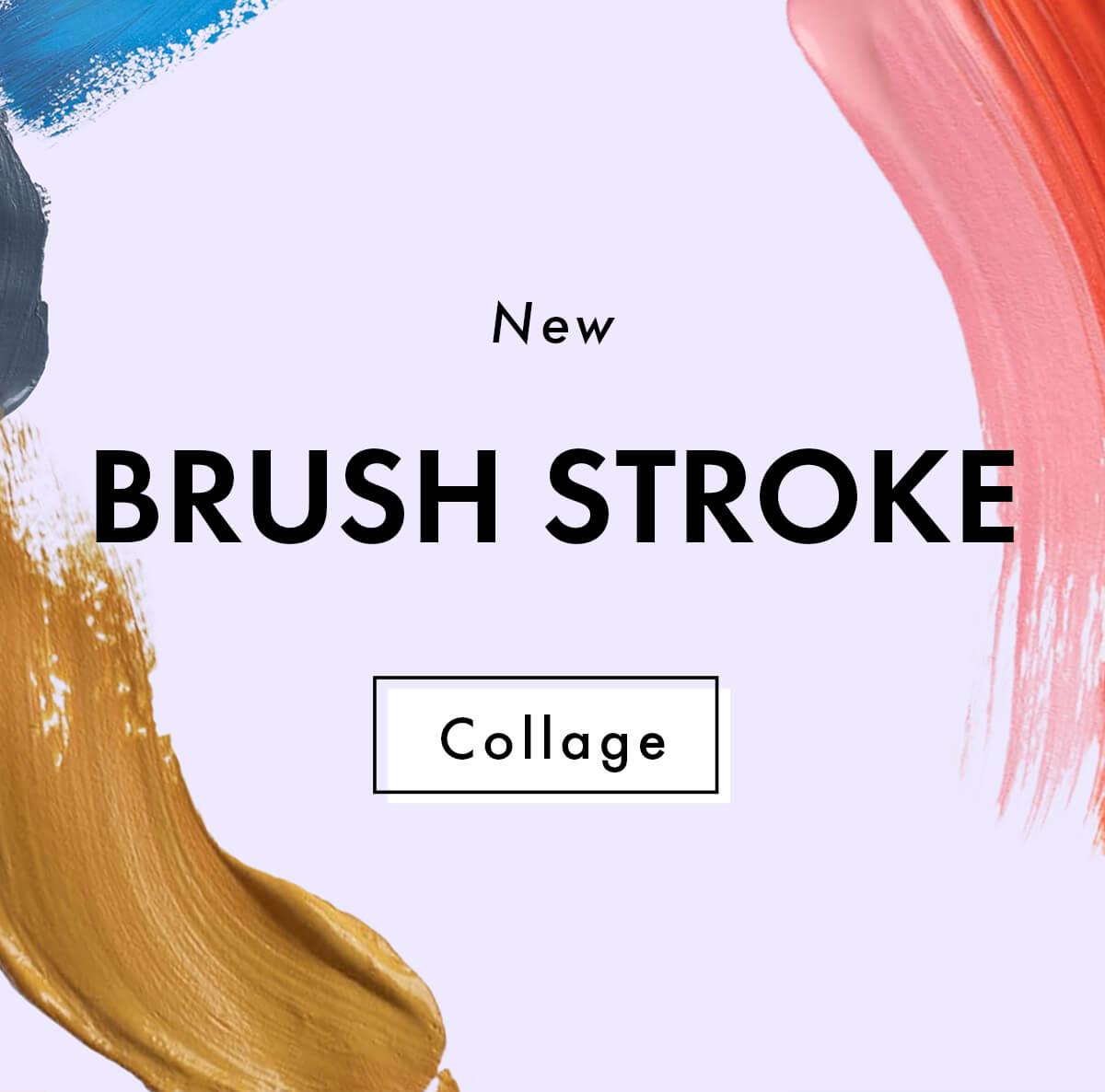 A Design Kit: New Brush Stroke Collage +Pack!!!