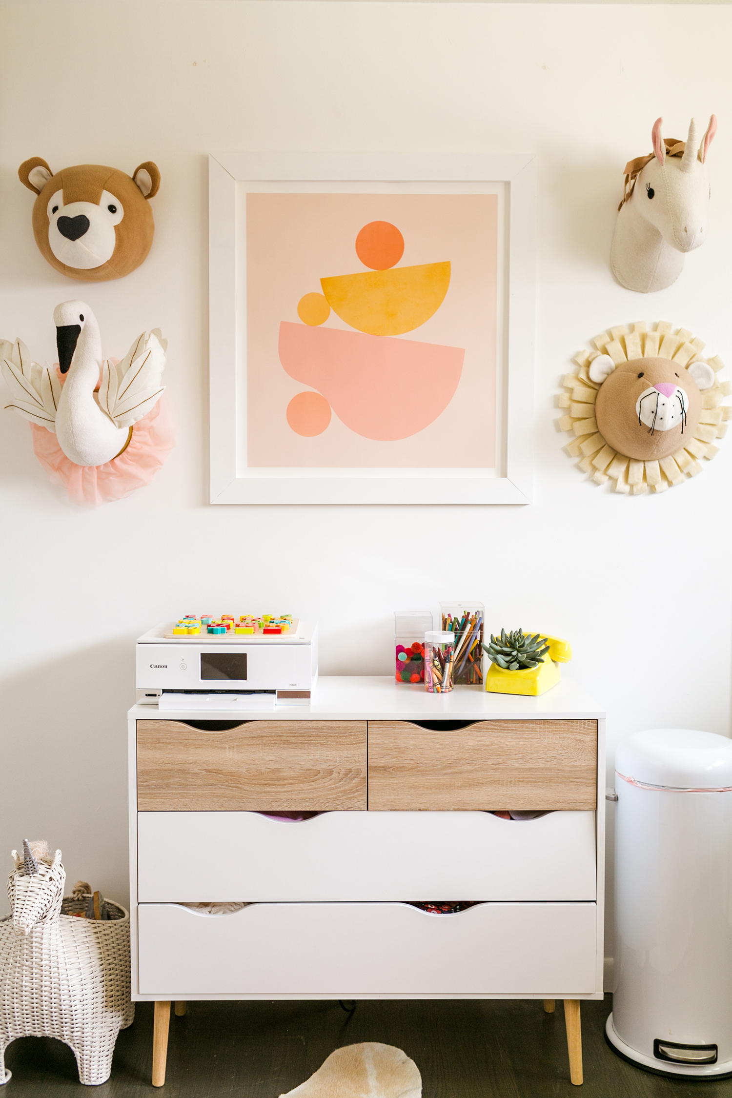 How I Share My Office/Craft Space With My Toddler