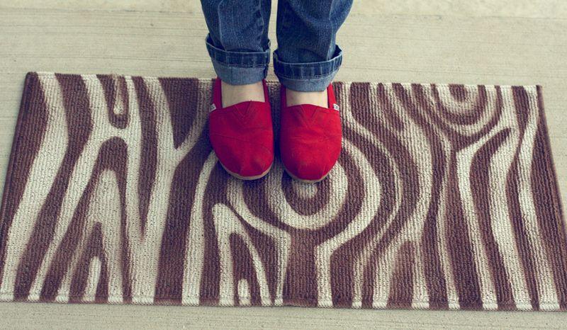 Faux-bois-DIY-rug
