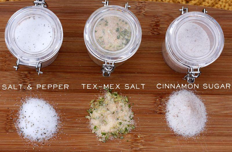 Salt flavors