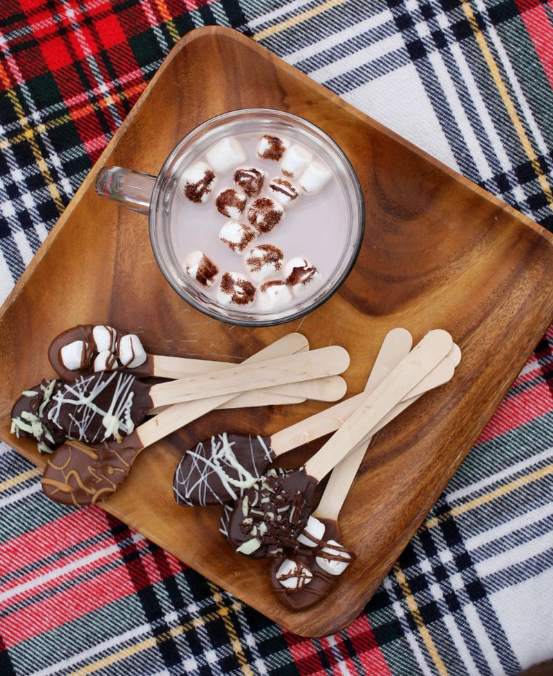 Hot chocolate spoons 1