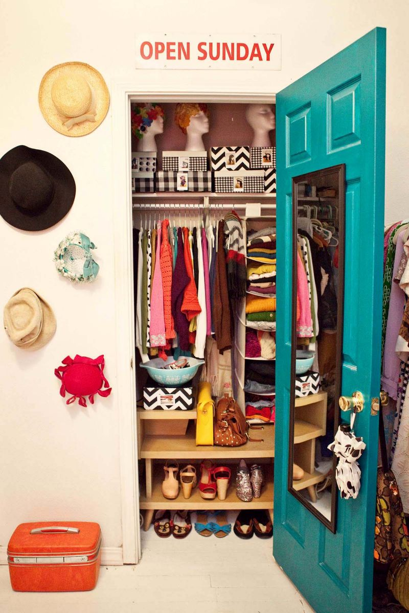 Elsie larson closet 1