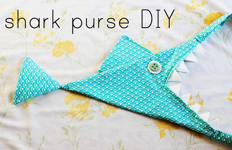 Shark purse 2