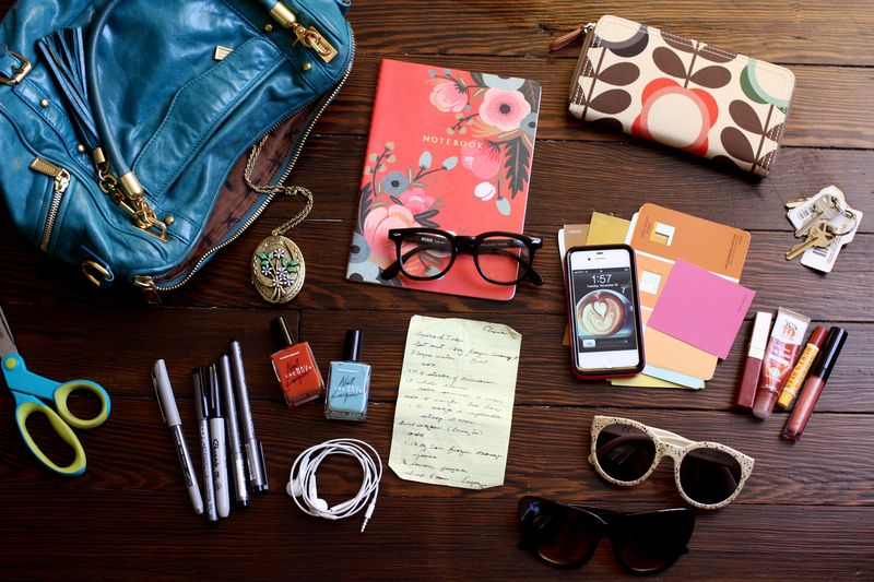 580e9ee9e5c4dd What's In My Bag? - A Beautiful Mess