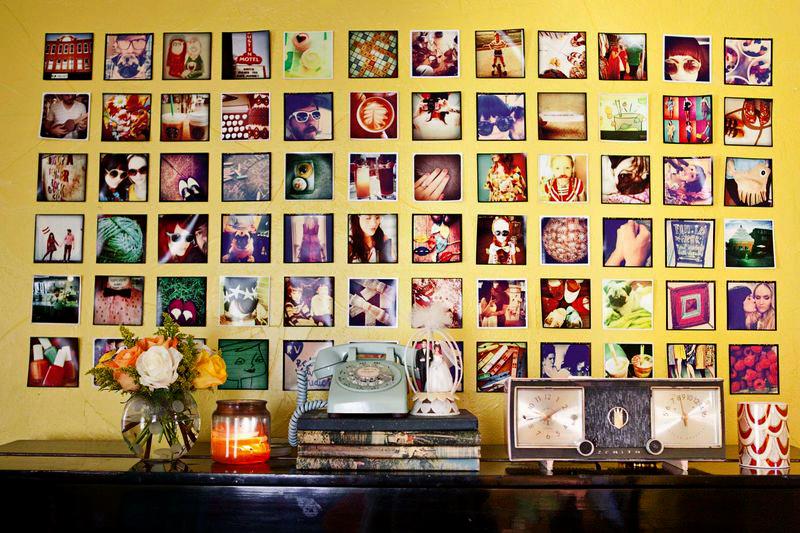 Instagram wall display 2