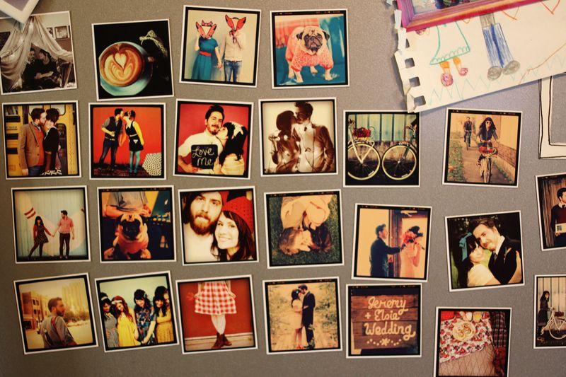 Instagram magnets by StickyGram